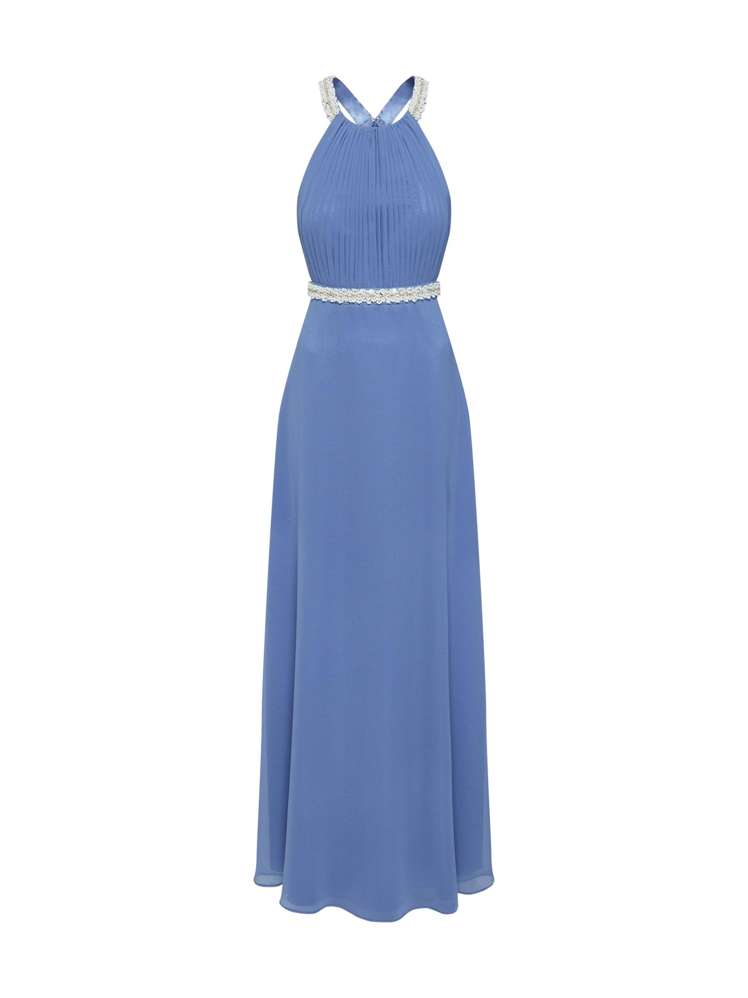 Vera Mont Vakarinė suknelė auksas / perlų balta / mėlyna dūmų spalva