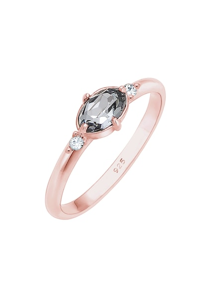 Ringe für Frauen - ELLI Ring rosegold silbergrau  - Onlineshop ABOUT YOU