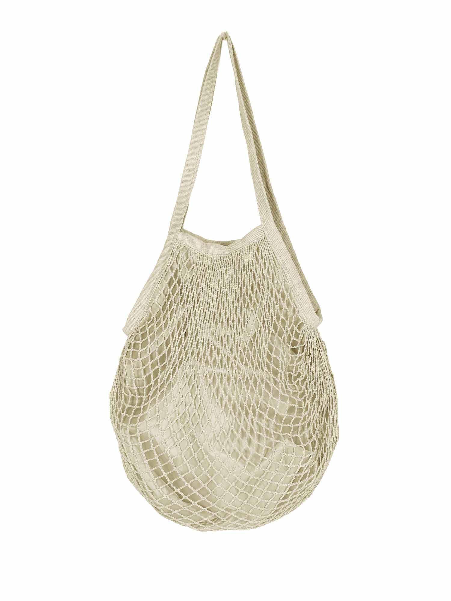 ABOUT YOU Paplūdimio krepšys 'Merle' smėlio