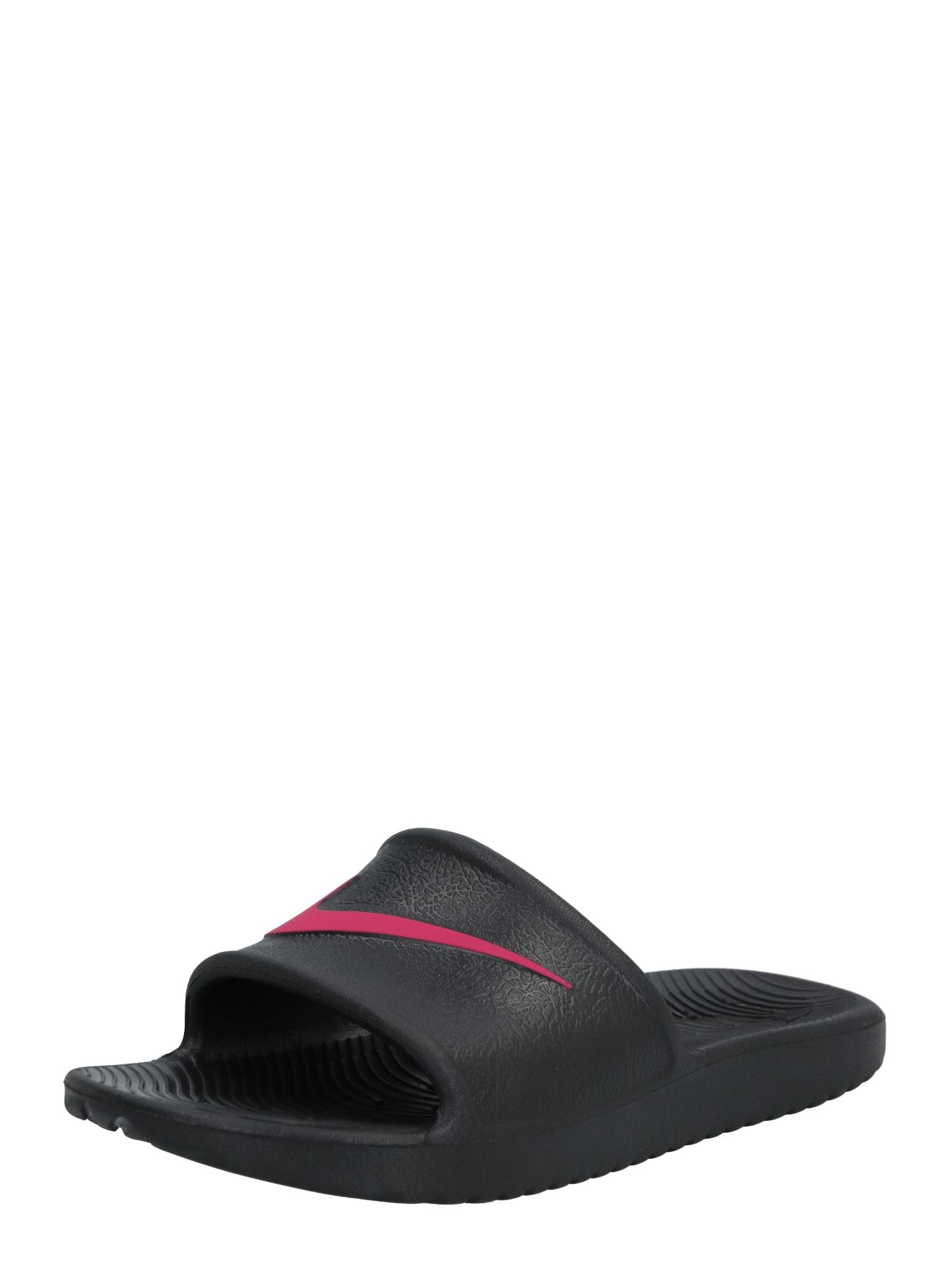 Nike Sportswear Otvorená obuv  ružová / čierna