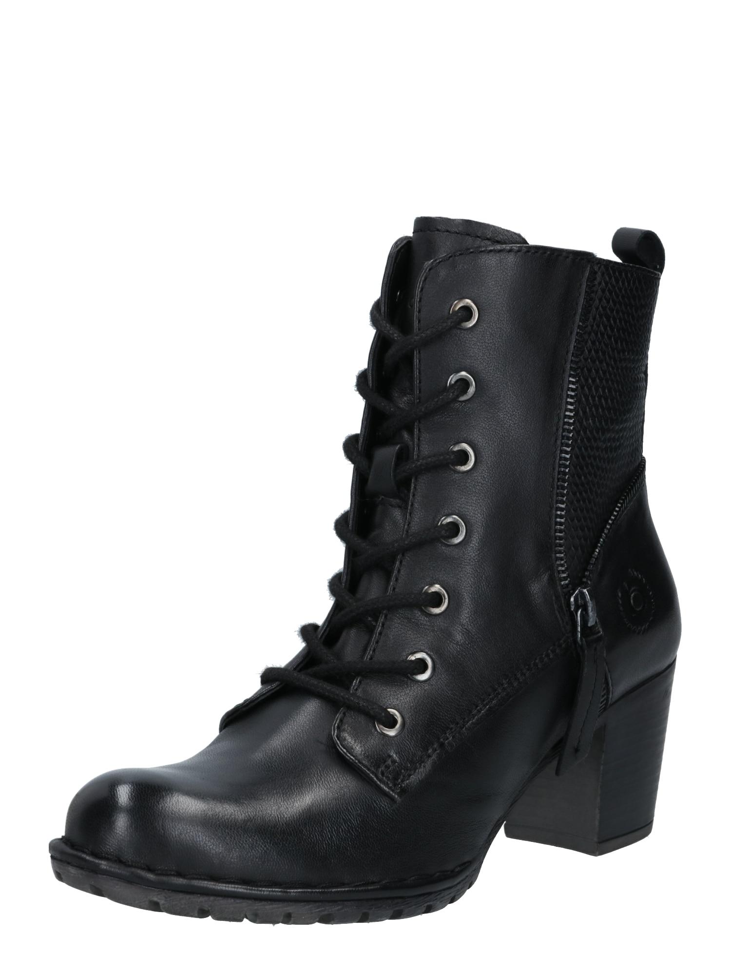 bugatti Suvarstomieji kulkšnis dengiantys batai juoda