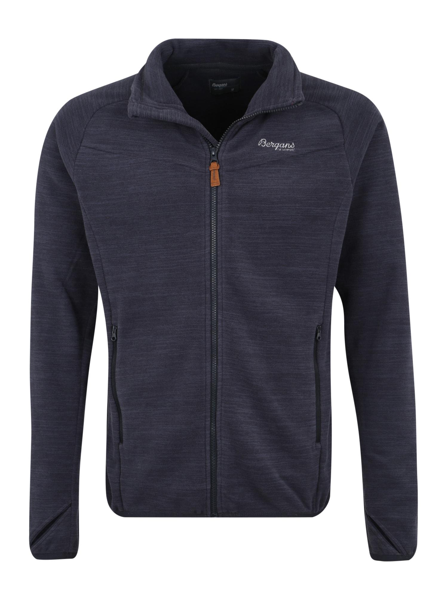 Bergans Funkcinis flisinis džemperis 'Hareid' tamsiai mėlyna