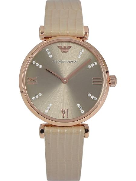 Uhren für Frauen - Emporio Armani Damenuhr rosegold grau  - Onlineshop ABOUT YOU