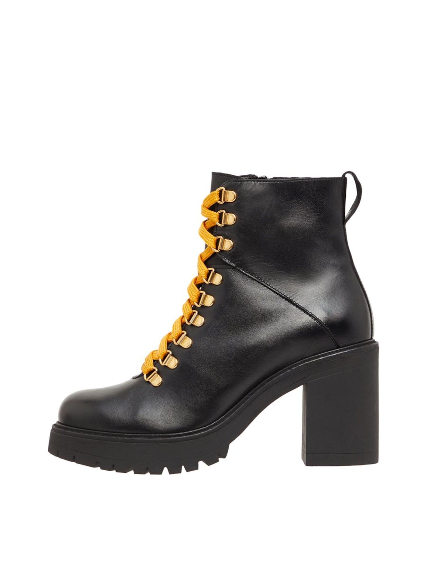 Bianco Suvarstomieji kulkšnis dengiantys batai 'Biacurtis' juoda