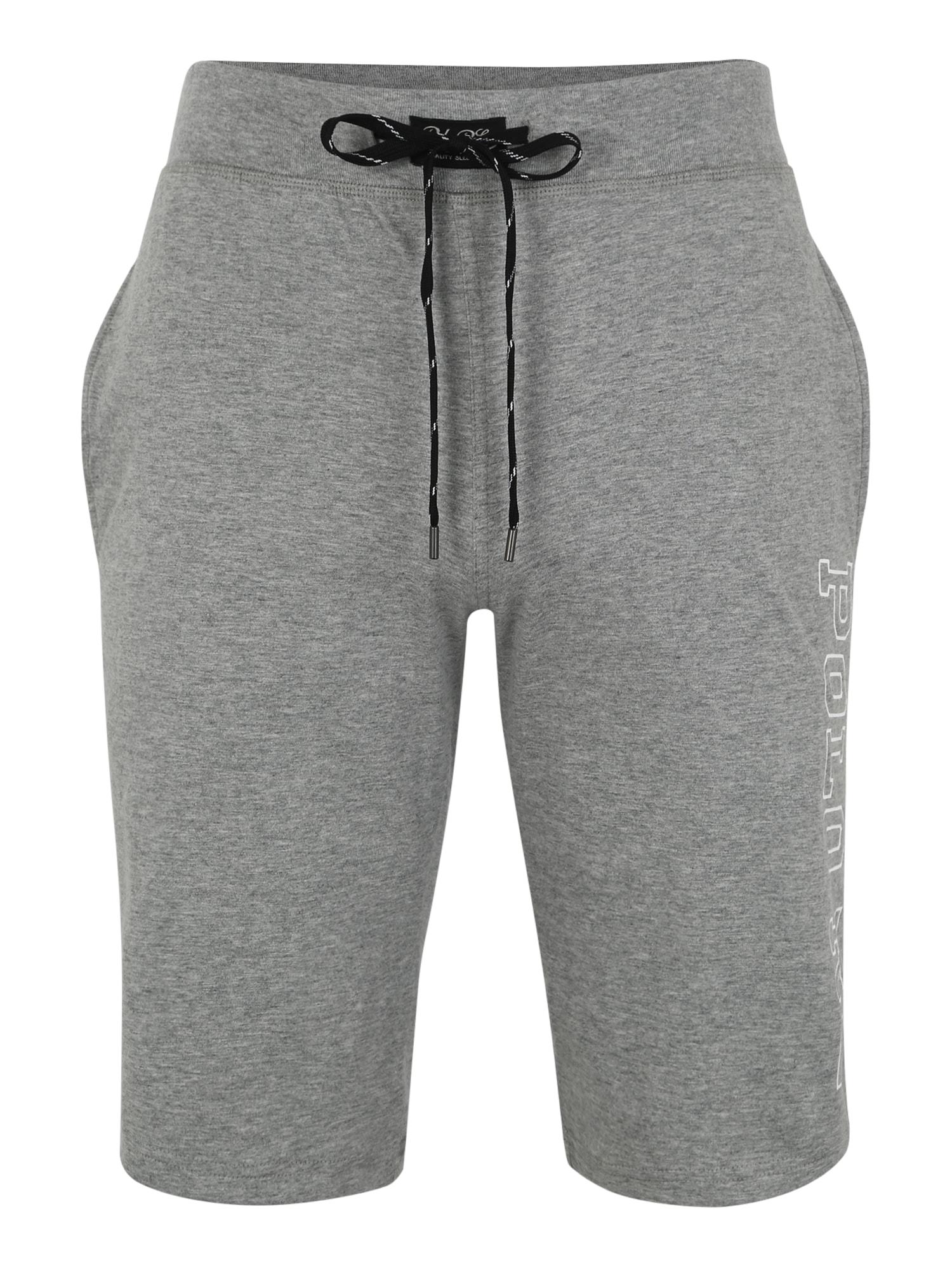 Pyžamové kalhoty šedá černá bílá POLO RALPH LAUREN