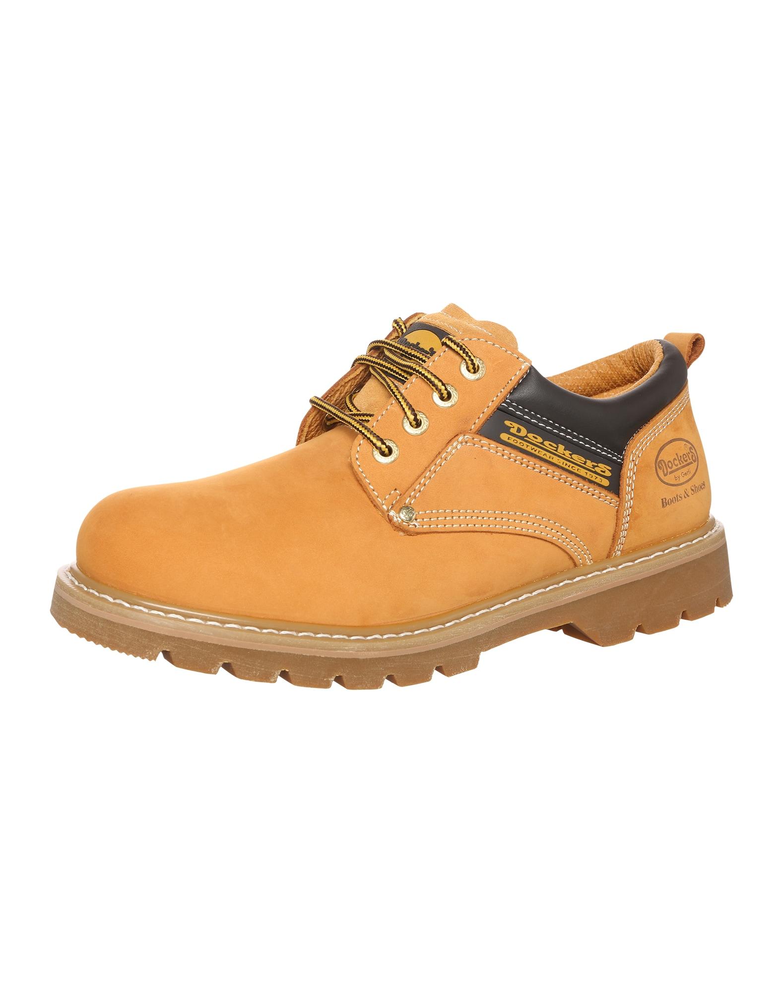 Dockers by Gerli Sportinio stiliaus batai su raišteliais šviesiai ruda / smėlio