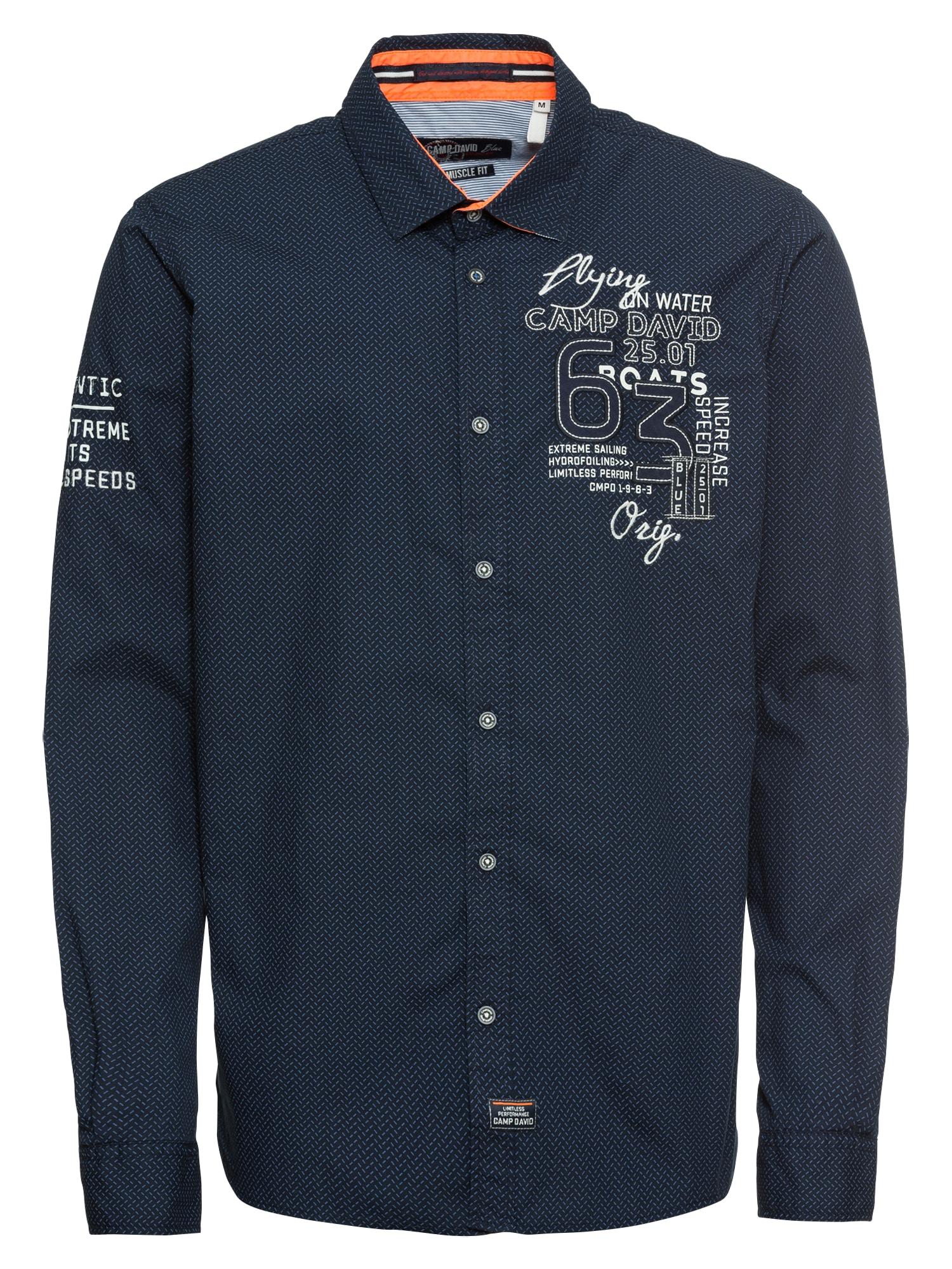Košile námořnická modř světlemodrá bílá CAMP DAVID