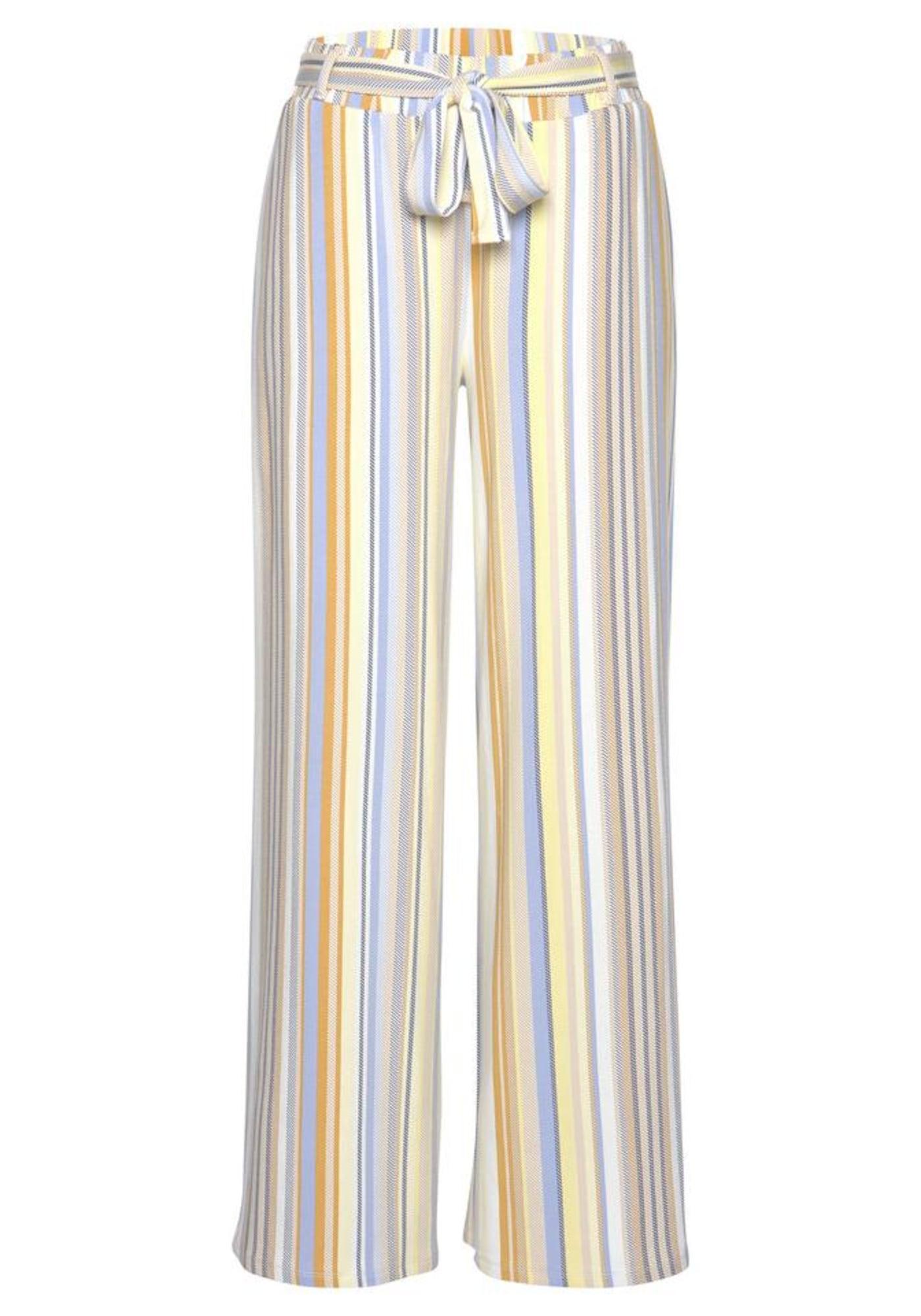 VENICE BEACH Kelnės geltona / mišrios spalvos / smėlio / mėlyna