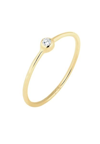Ringe für Frauen - ELLI PREMIUM Ring gold weiß  - Onlineshop ABOUT YOU