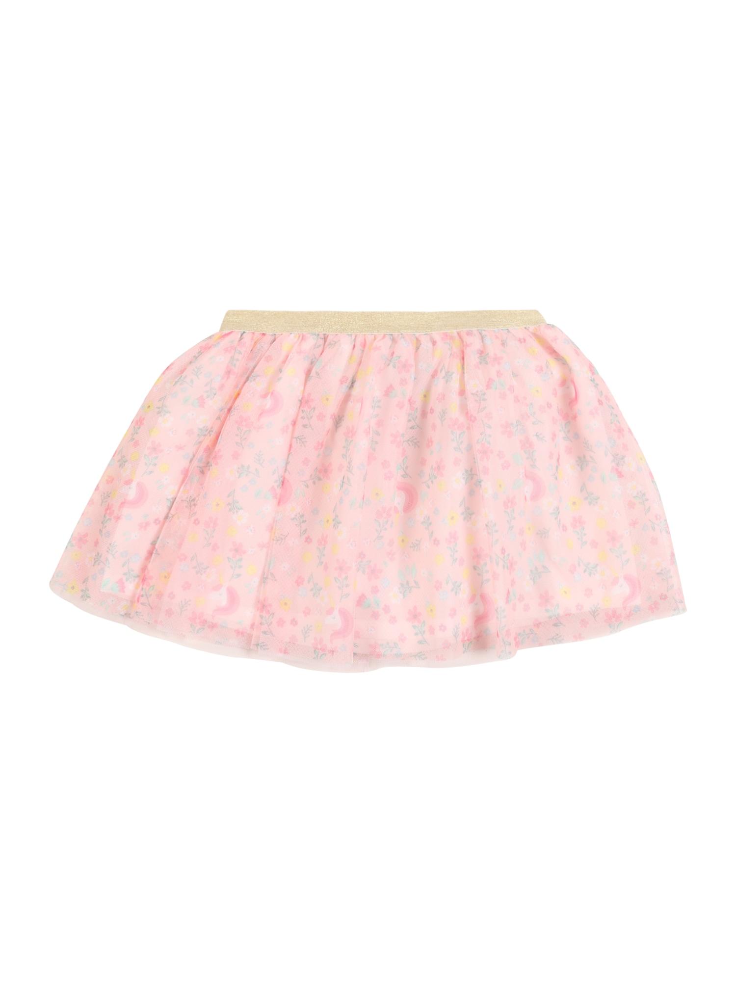 Carter's Sijonas 'Easter Collection S20 pink unicorn tutu' mišrios spalvos / pastelinė rožinė