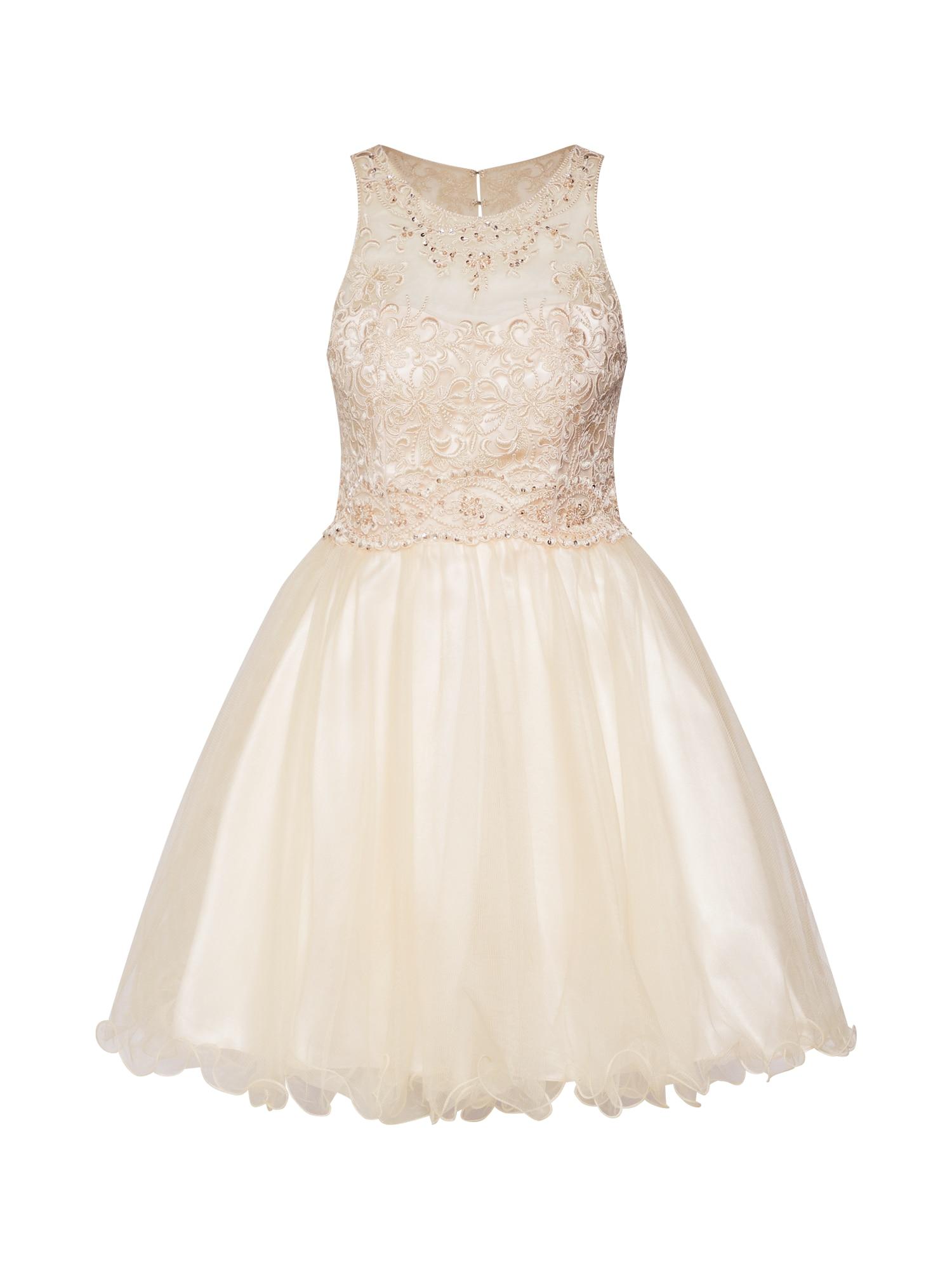 Koktejlové šaty pastelově růžová Laona