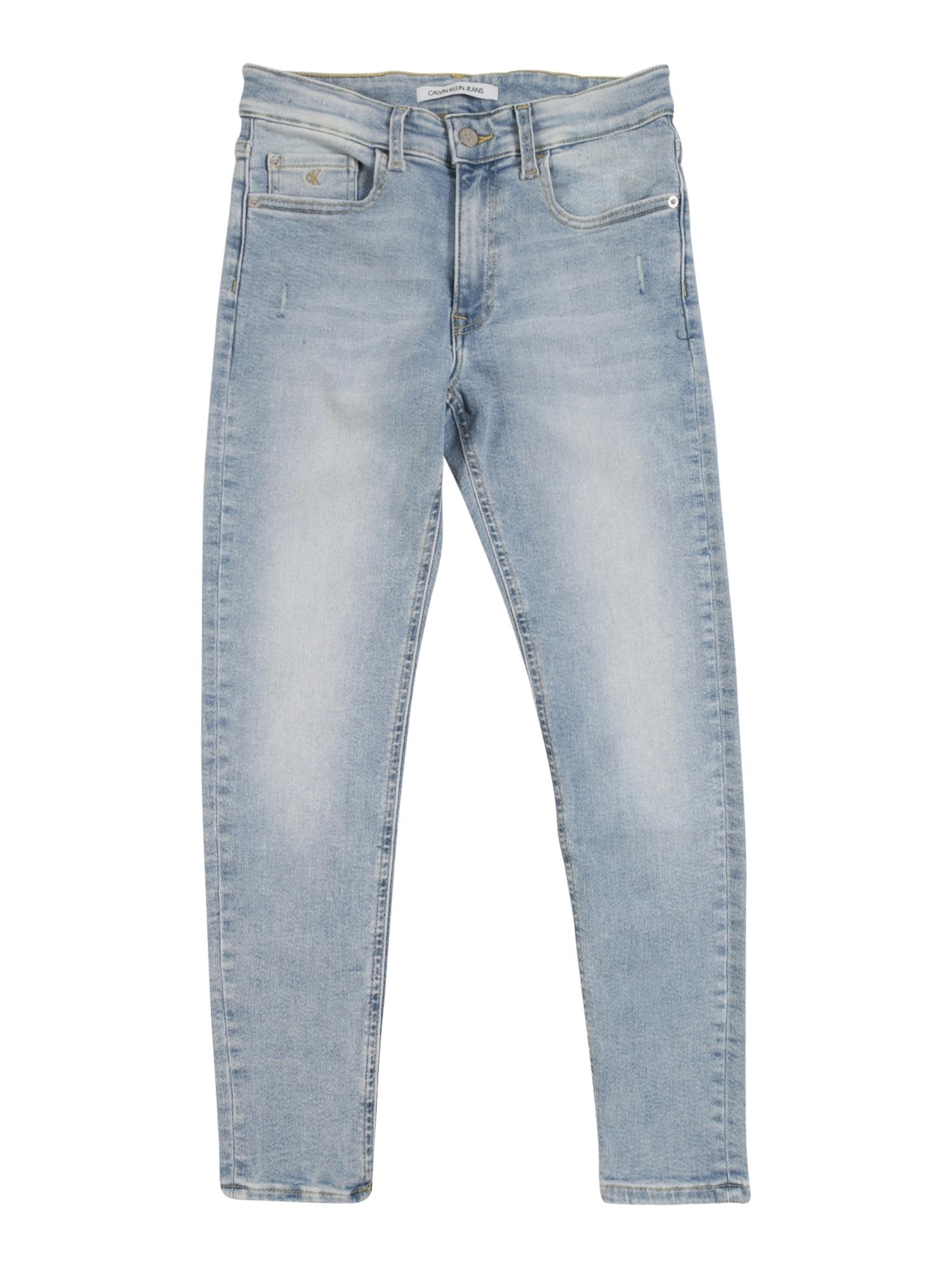 Calvin Klein Jeans Džinsai ' LUSTER' tamsiai (džinso) mėlyna
