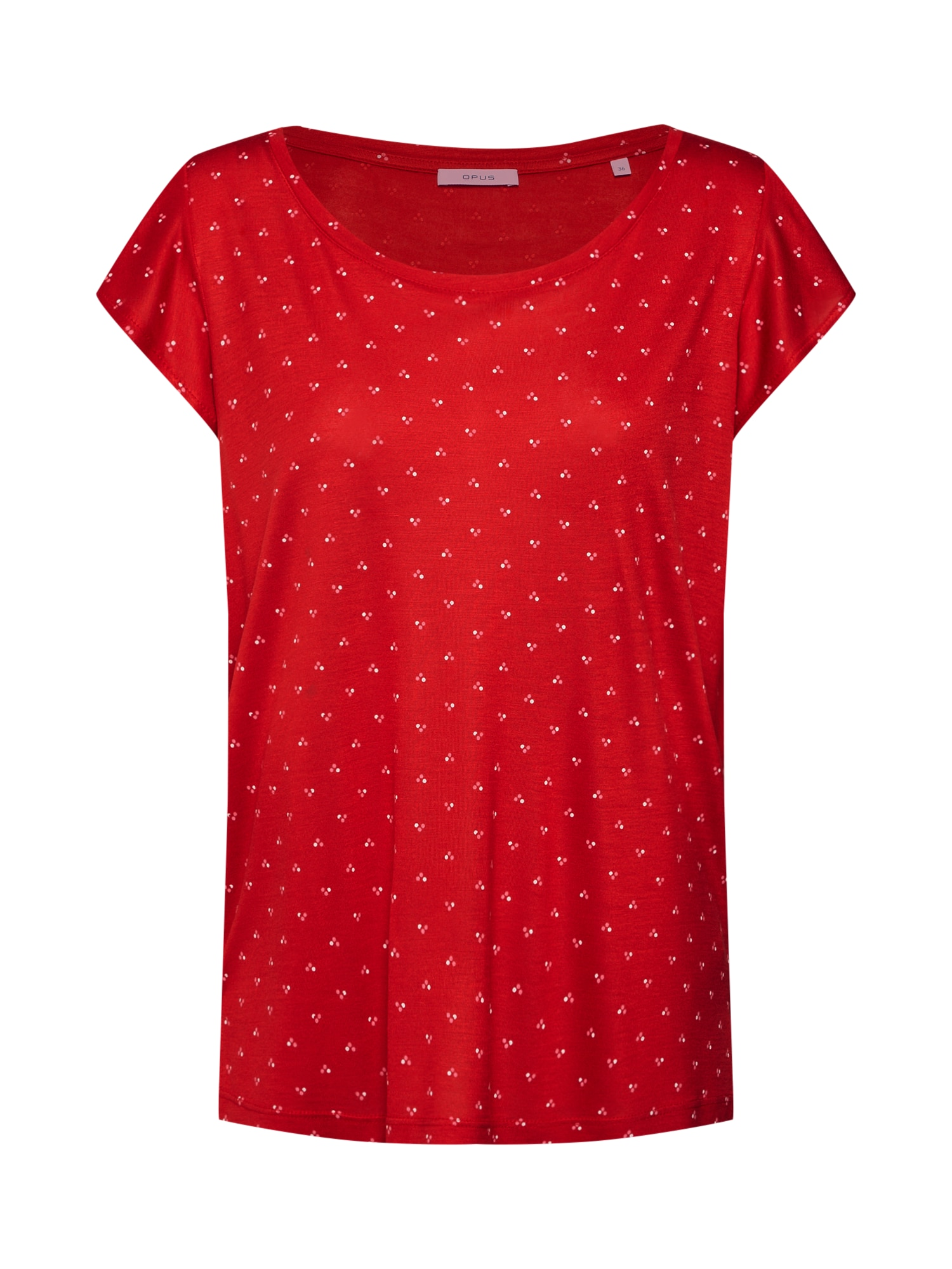 Tričko Solliana threedots ROS červená bílá OPUS