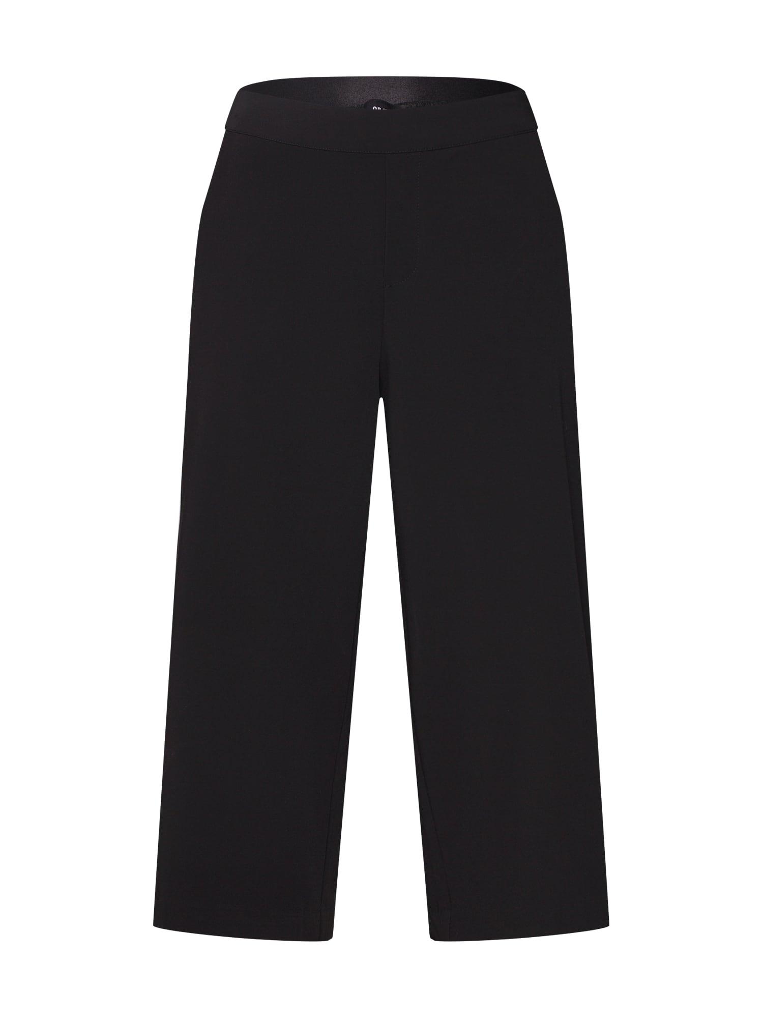 OBJECT Kalhoty  černá