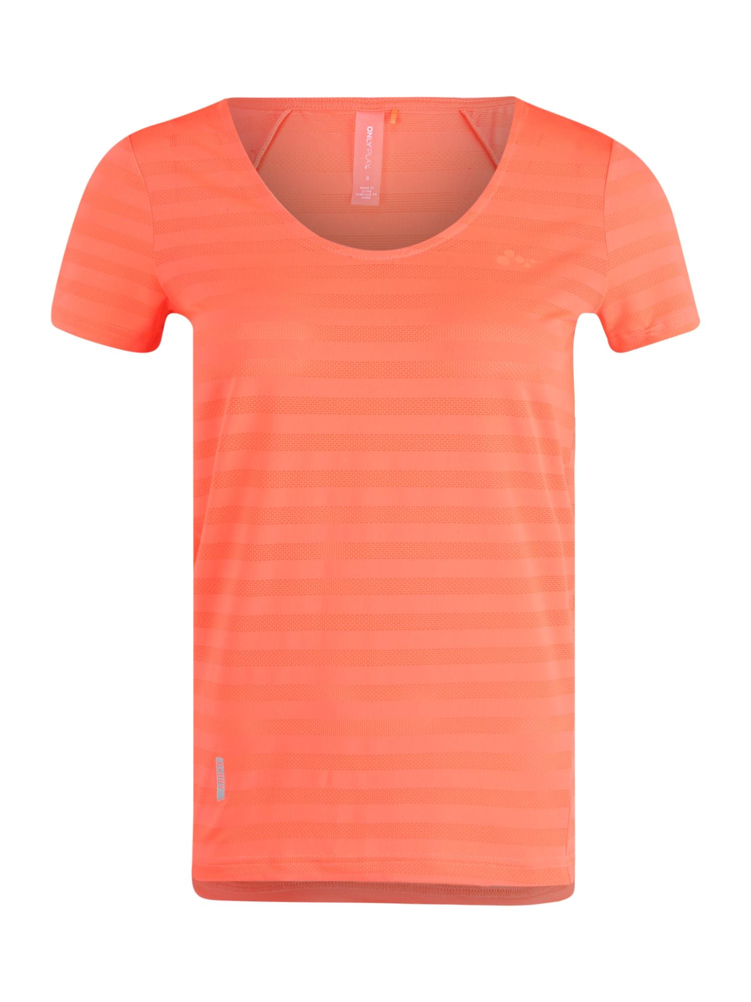 ONLY PLAY Sportiniai marškinėliai koralų splava