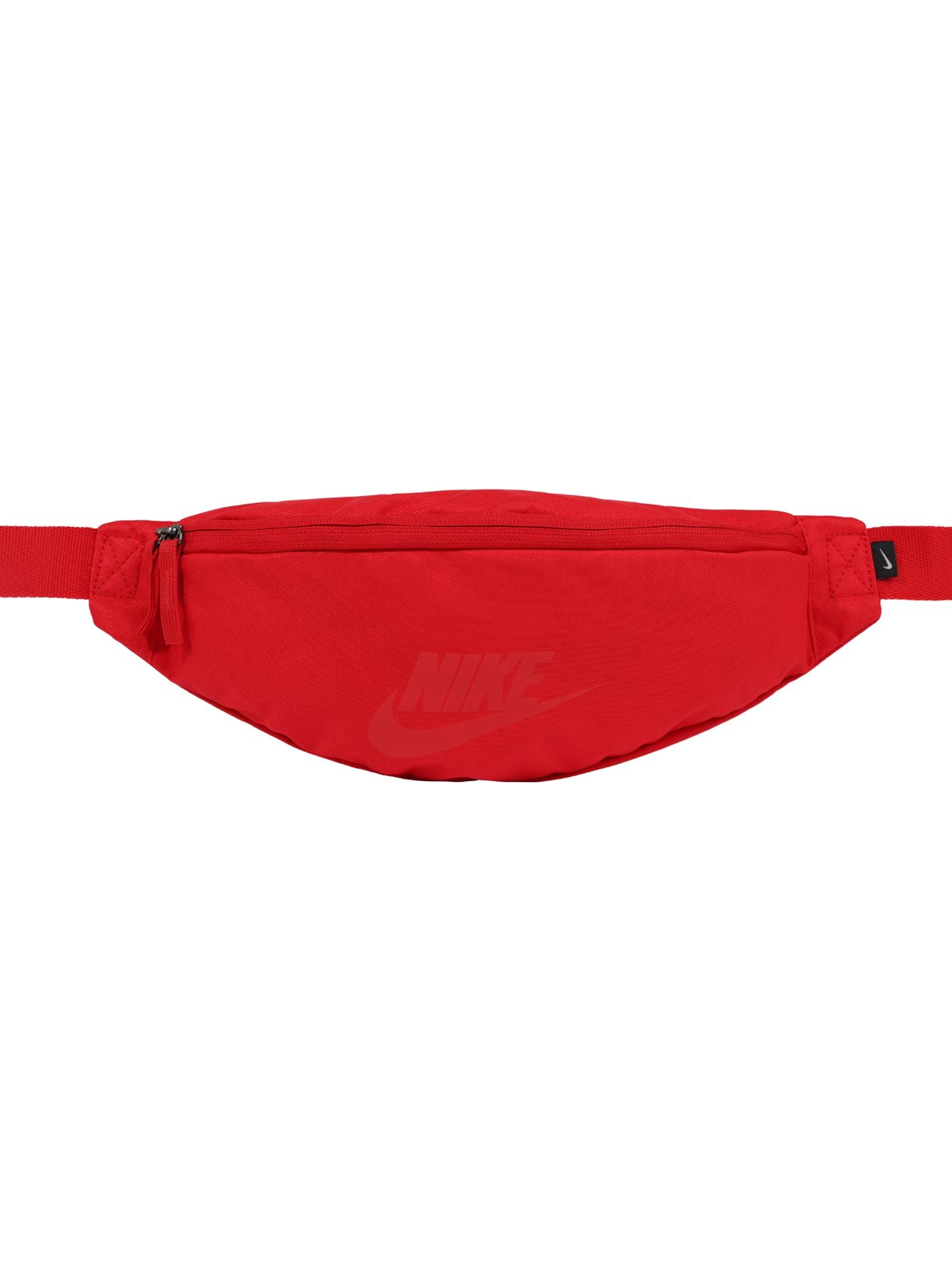 Nike Sportswear Rankinė ant juosmens 'Heritage' raudona