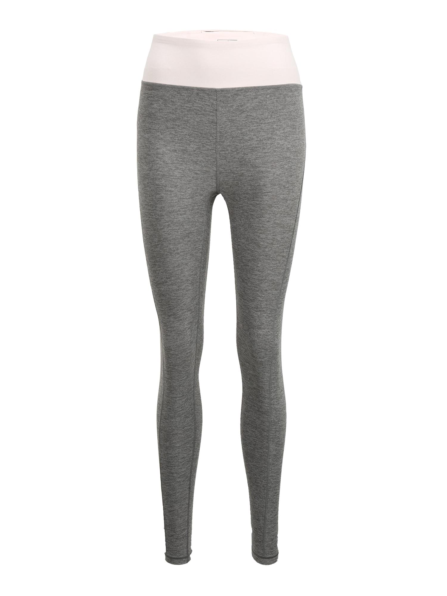 PUMA Športové nohavice 'Studio Luxe Eclipse'  ružová / sivá