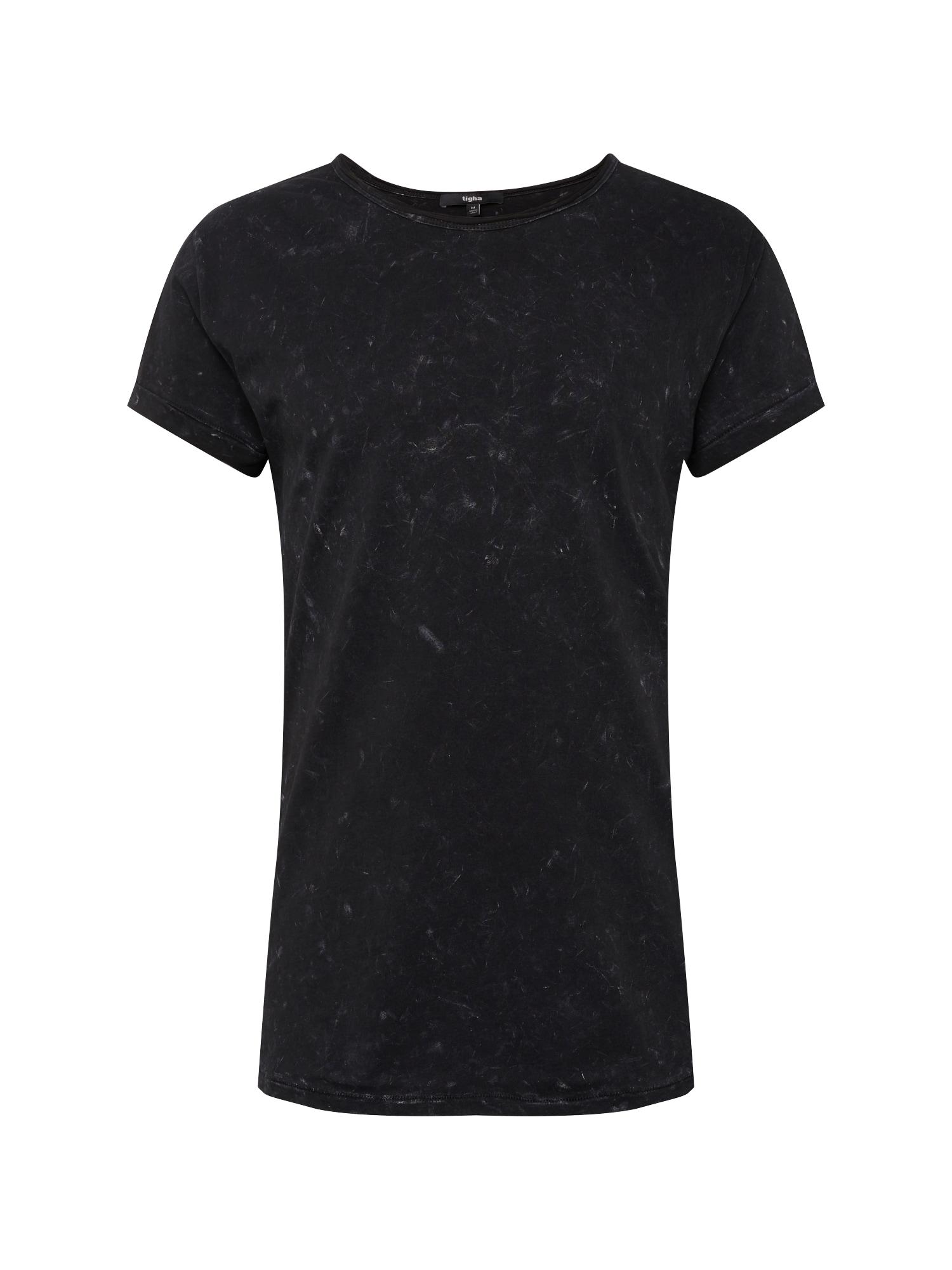 Tričko Milo černý melír Tigha