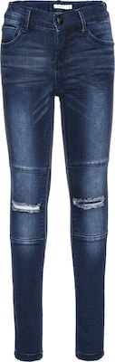 NAME IT Dunkle Skinny Fit Jeans 'nittammy'