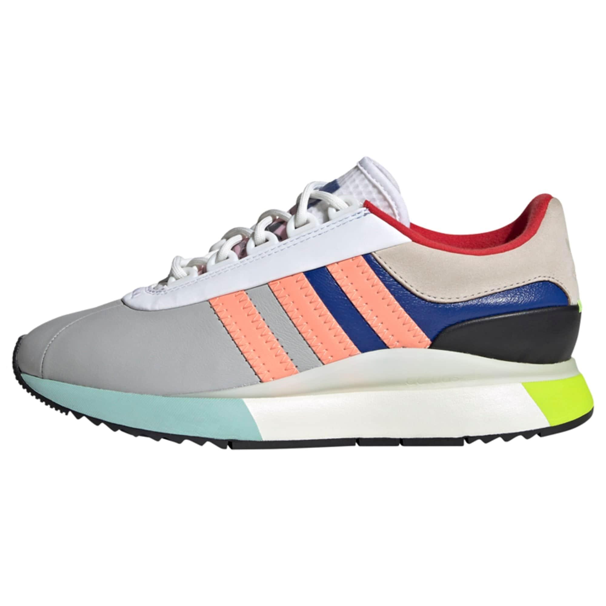ADIDAS ORIGINALS Sneaker  sivá / lososová / tmavomodrá / jablková / tyrkysová