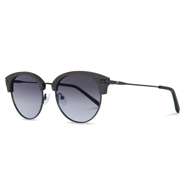Sonnenbrillen für Frauen - Kerbholz Sonnenbrille 'Carl' dunkelbraun dunkelgrau schwarz  - Onlineshop ABOUT YOU