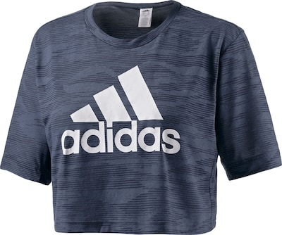 ADIDAS PERFORMANCE Crop T-Shirt Damen