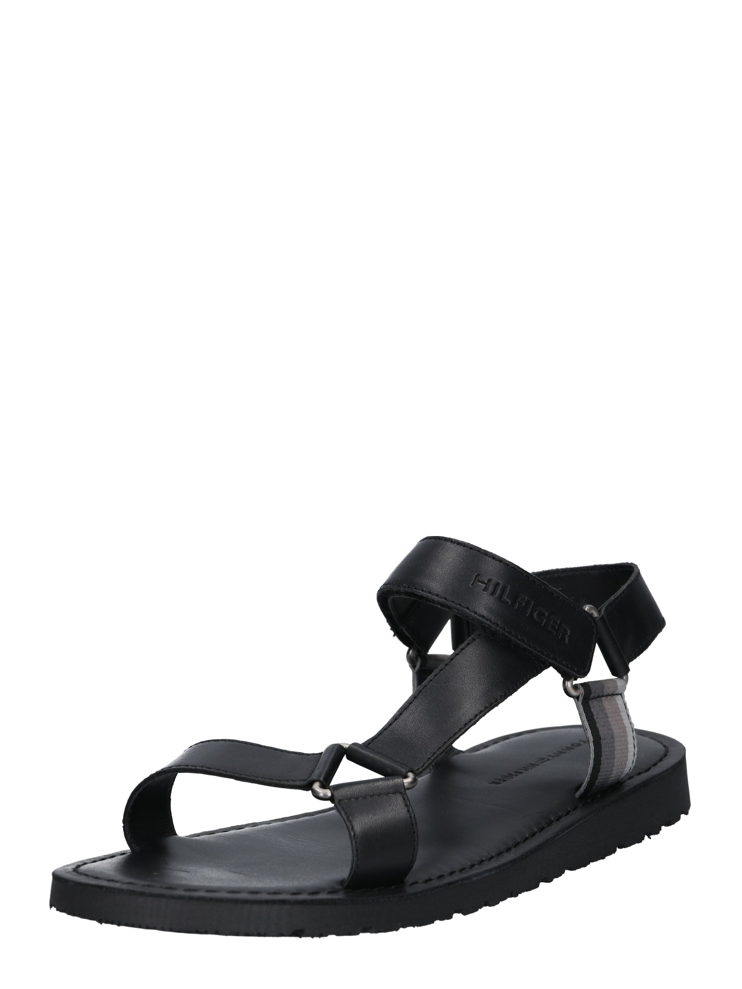Sandály Strappy černá TOMMY HILFIGER