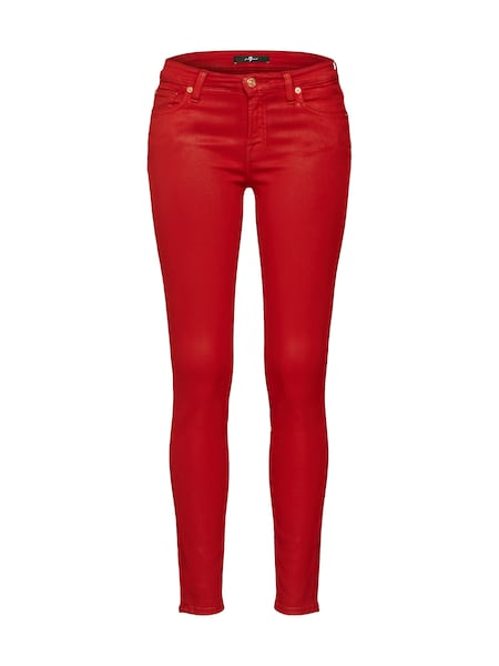 Hosen - Jeans 'THE SKINNY' › 7 For All Mankind › rot  - Onlineshop ABOUT YOU