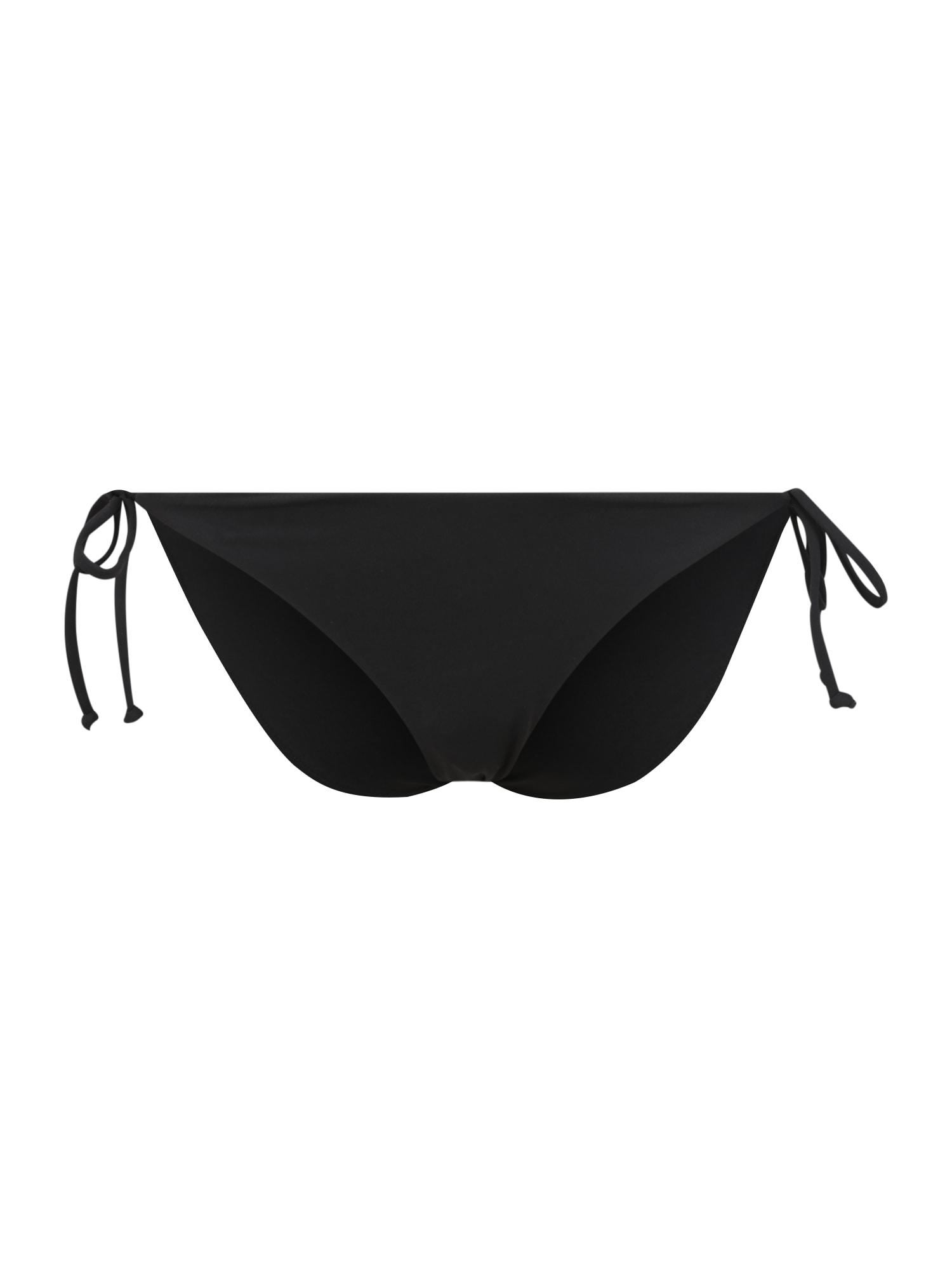 BILLABONG Sportinio bikinio kelnaitės juoda
