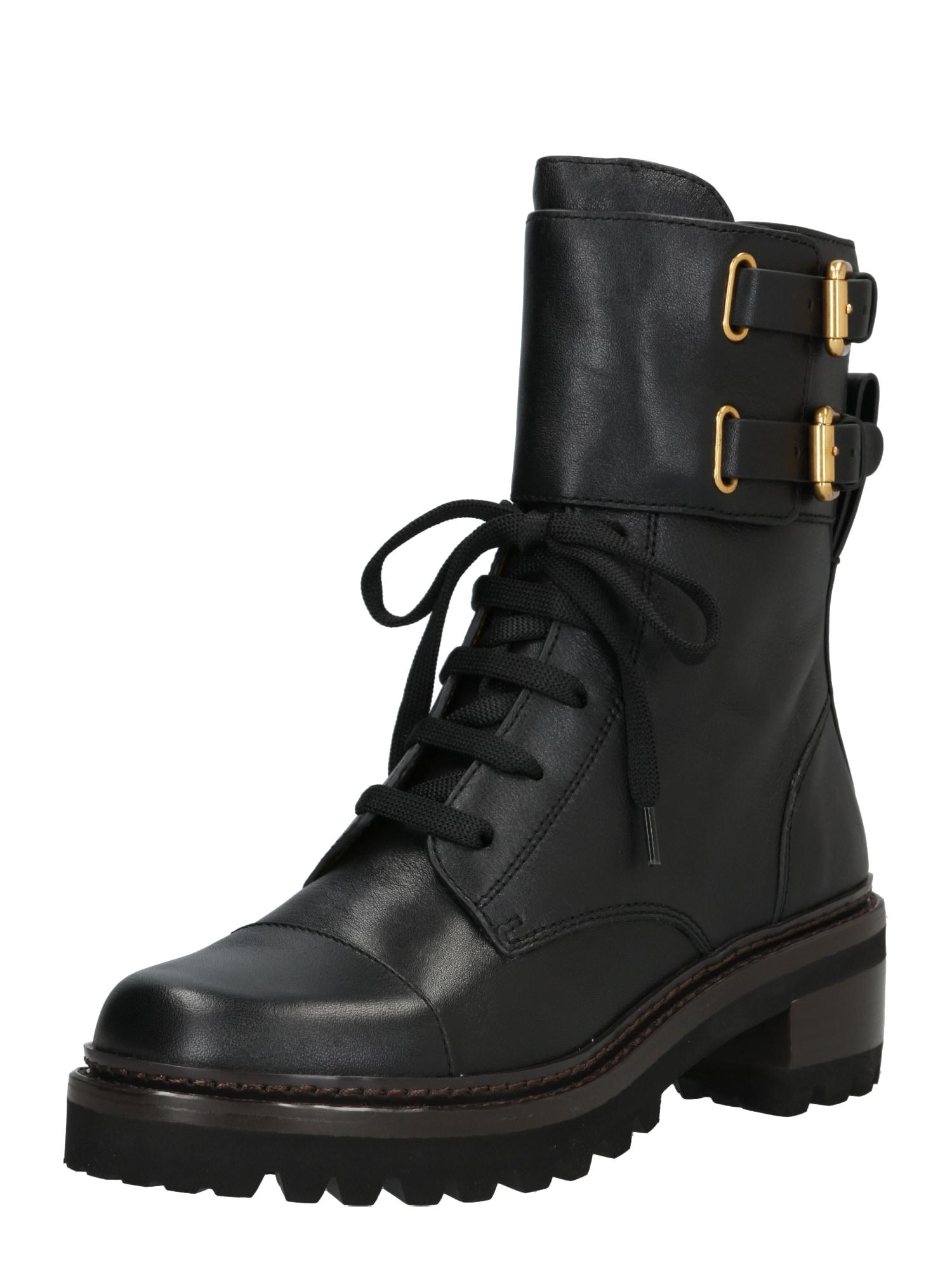 See by Chloé Suvarstomieji batai juoda