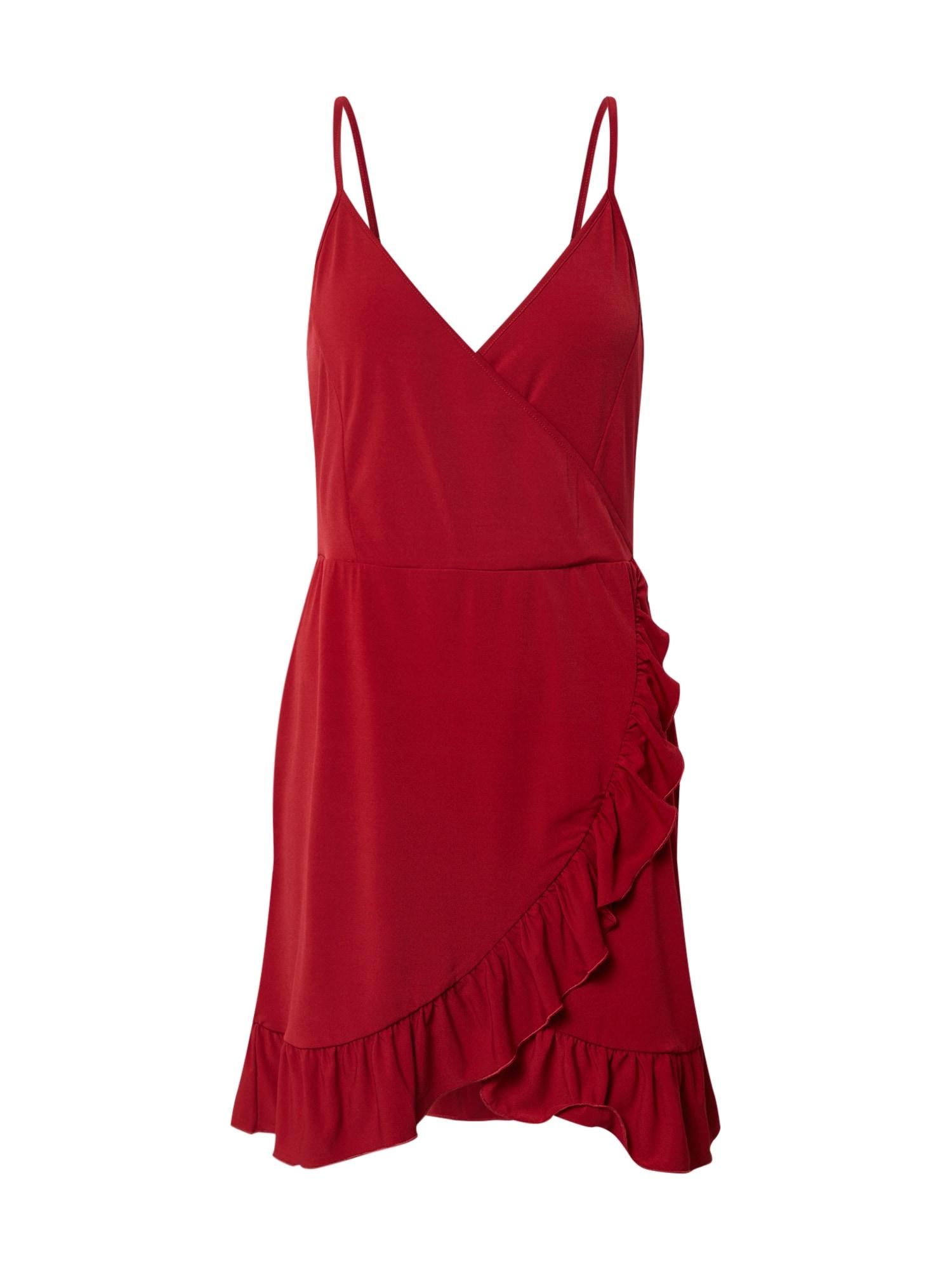 ABOUT YOU Vasarinė suknelė 'Corinna' raudona