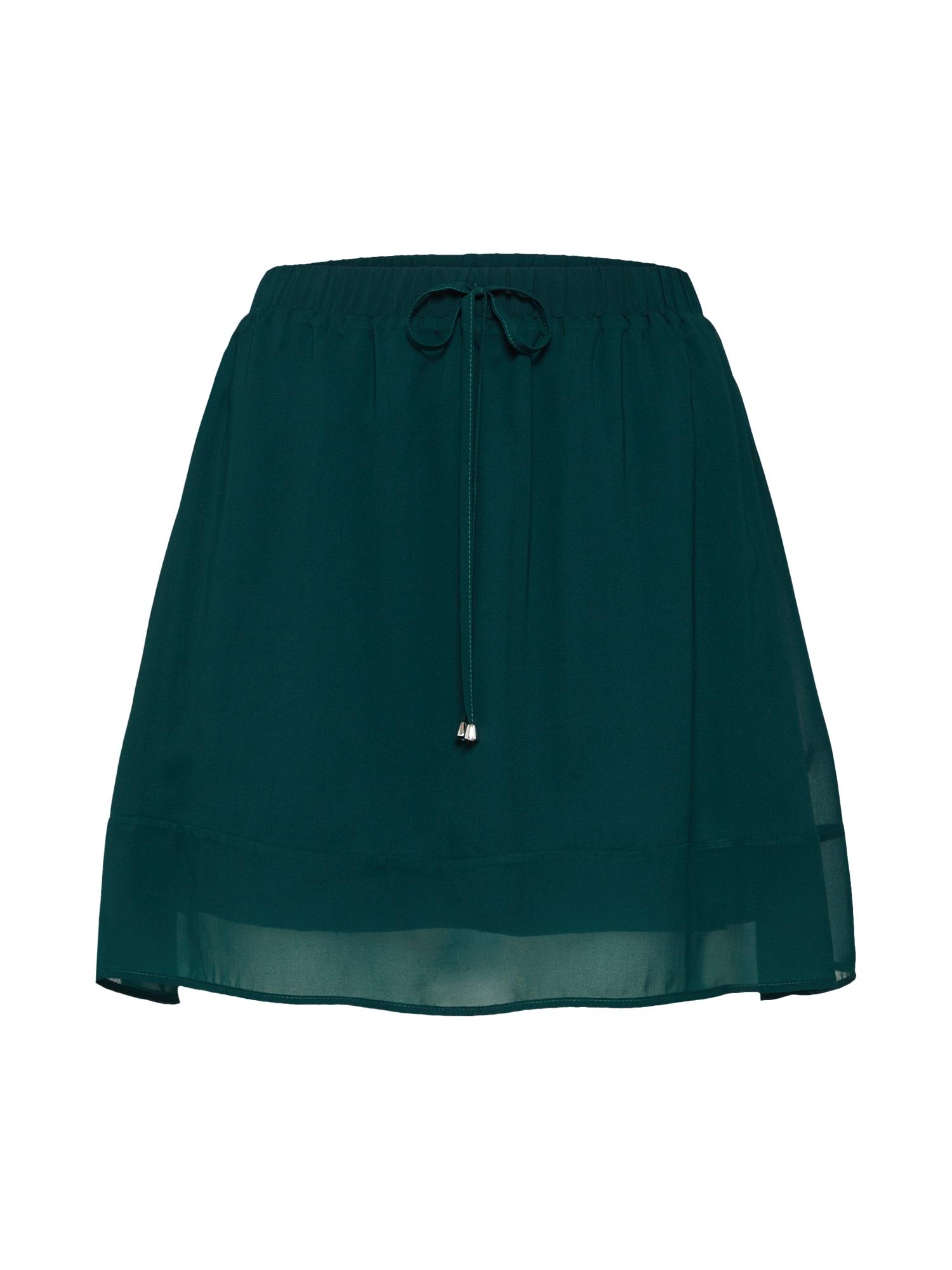 ABOUT YOU Sijonas 'Celia' smaragdinė spalva