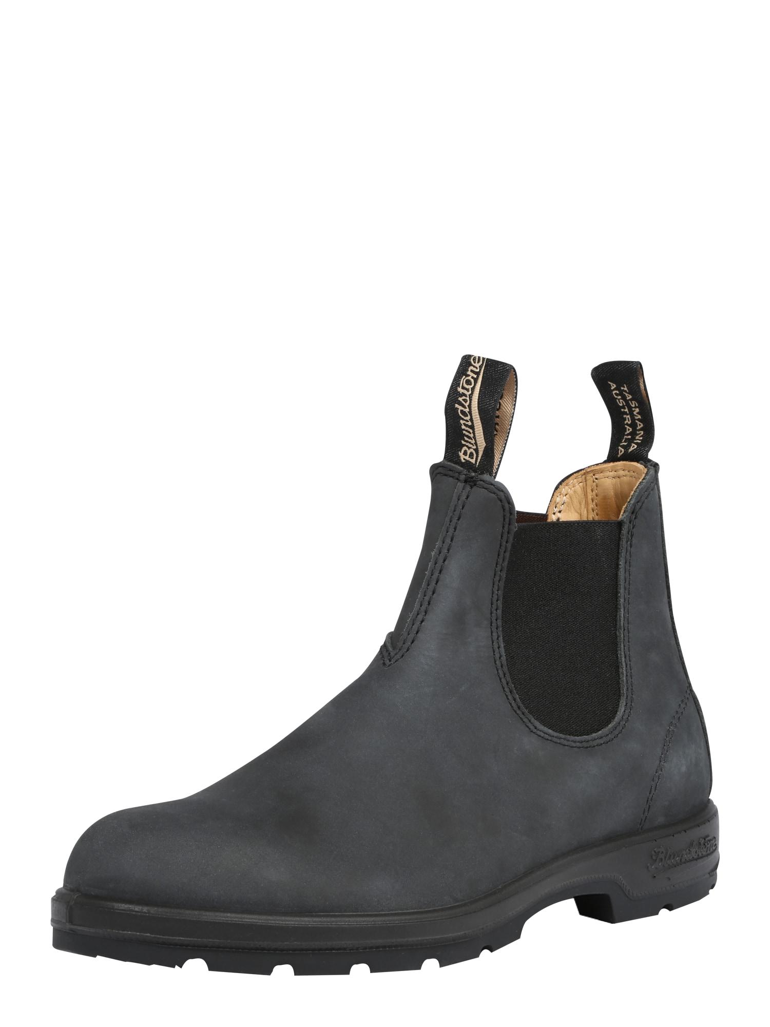 Chelsea boty 587 černá Blundstone