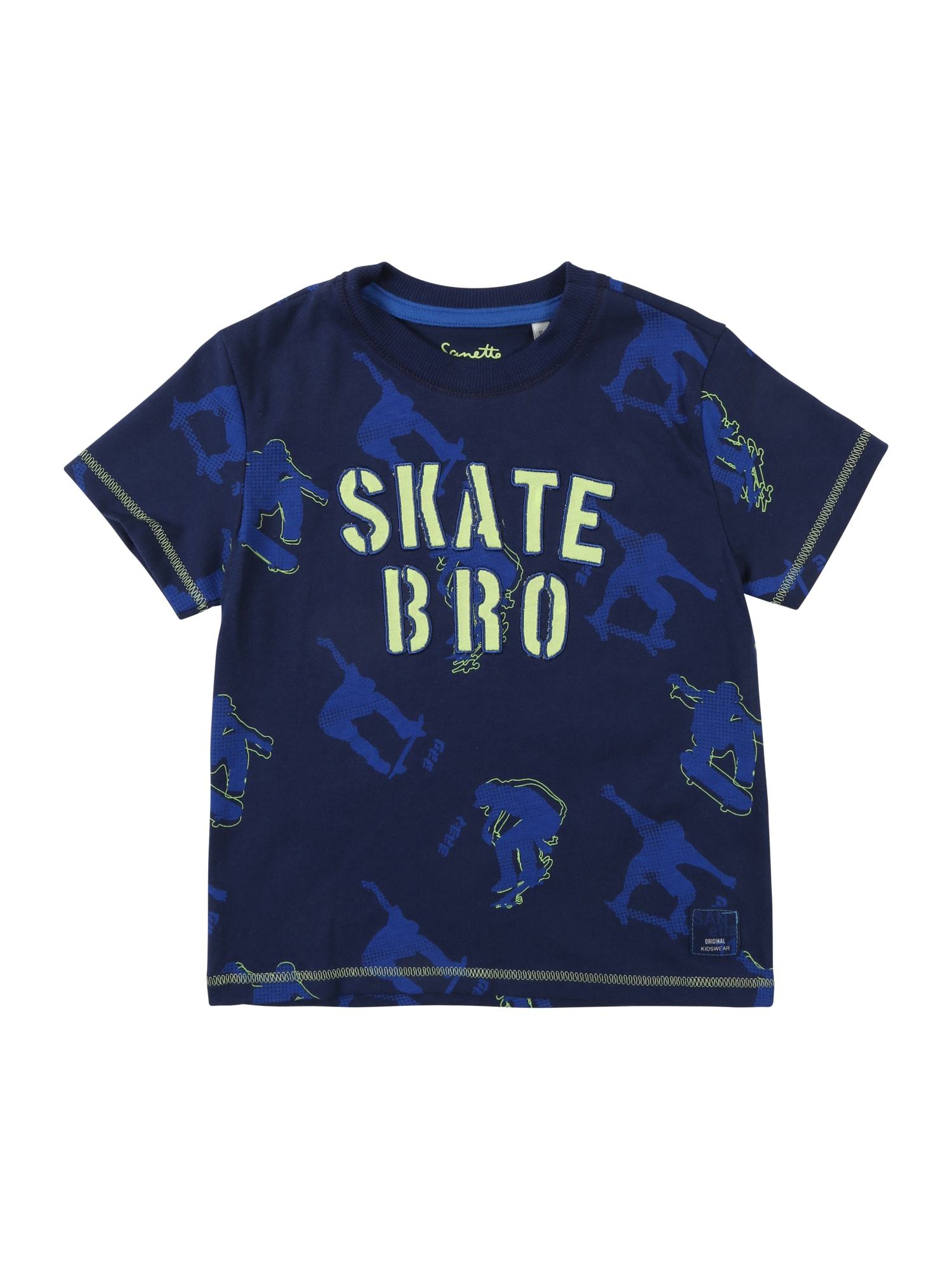 Tričko modrá Sanetta Kidswear