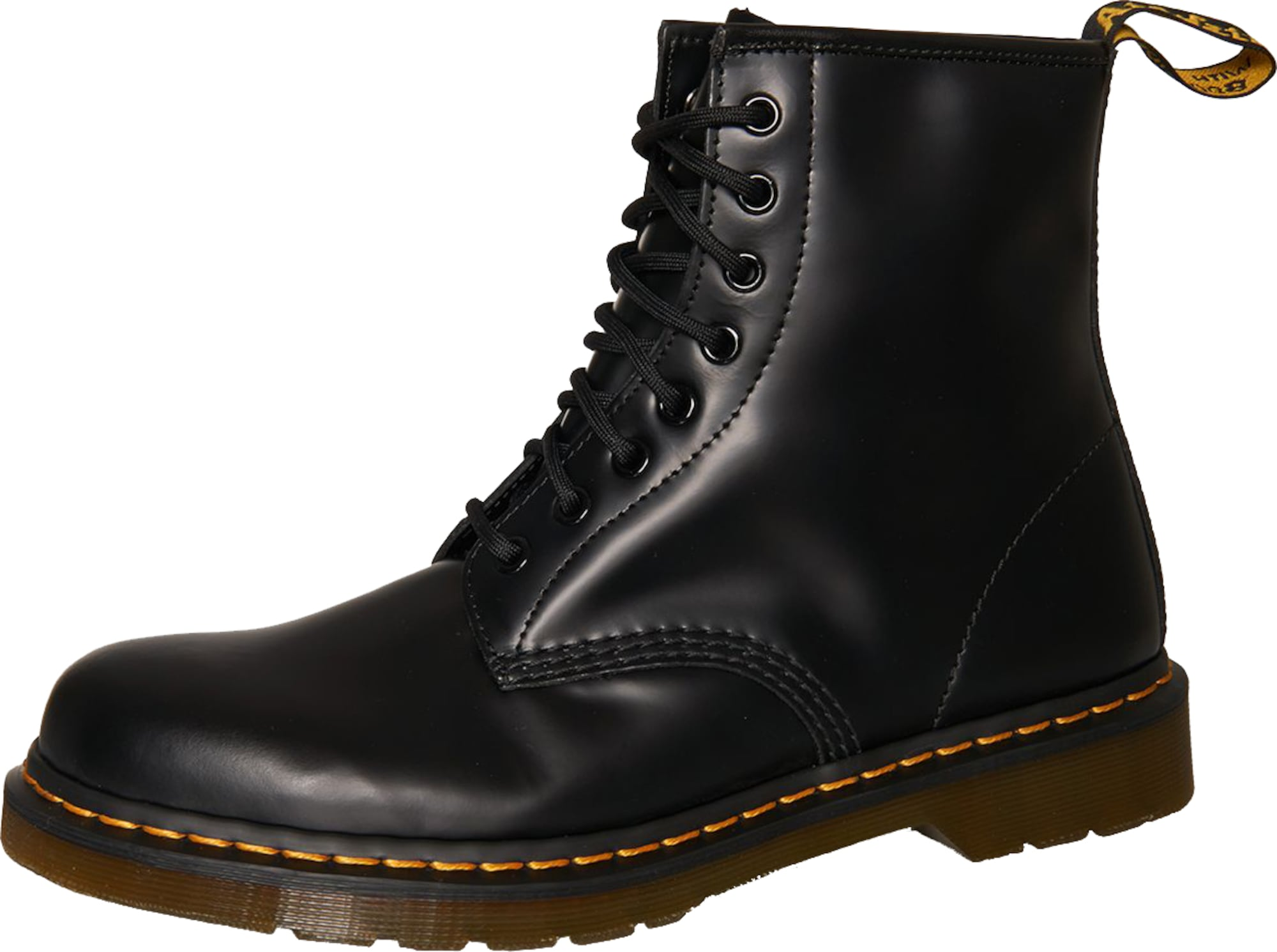 dr martens lederboots 39 1460 dmc 8 eye 39 in schwarz about you. Black Bedroom Furniture Sets. Home Design Ideas