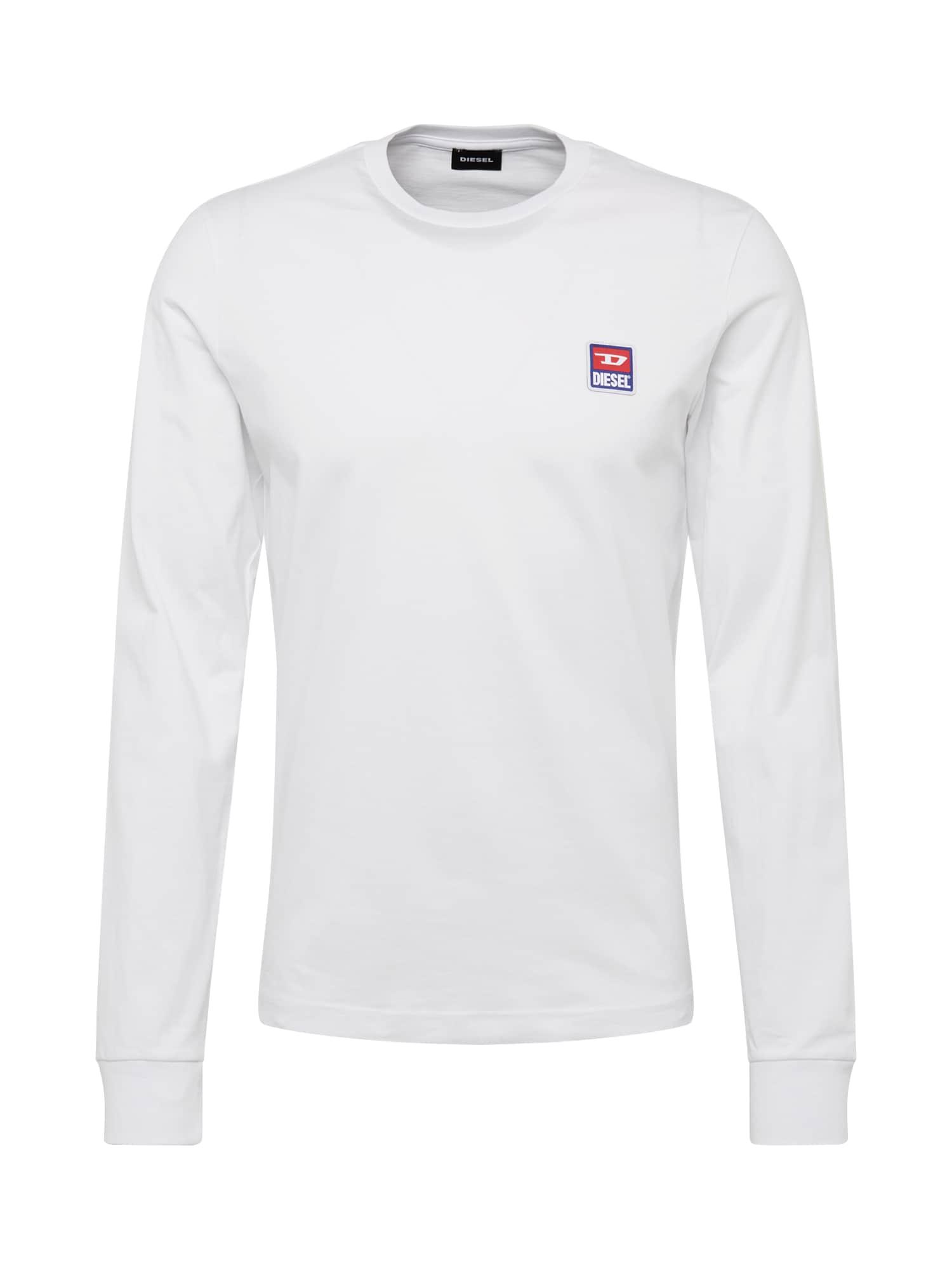 DIESEL Marškinėliai 'T-DIEGO-DIV-LS' balta