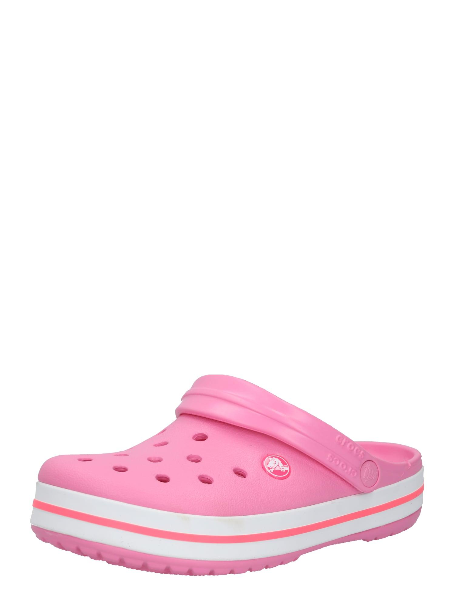 Crocs Klumpės rožinė / balta