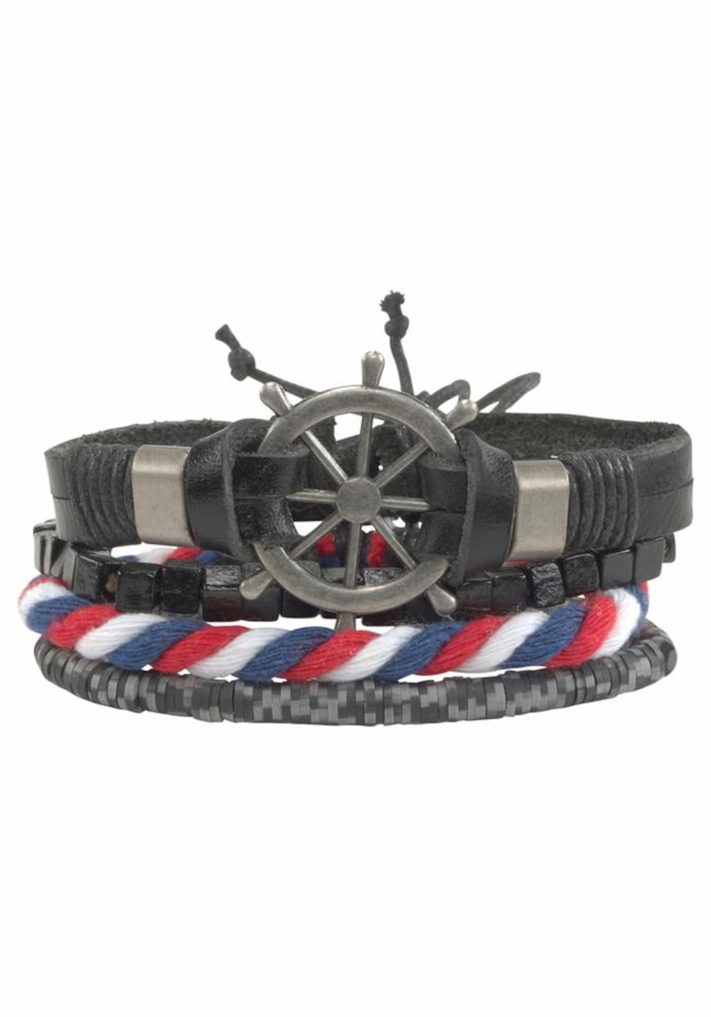 Schmucksets für Frauen - J. Jayz Armband Set blau rot schwarz  - Onlineshop ABOUT YOU