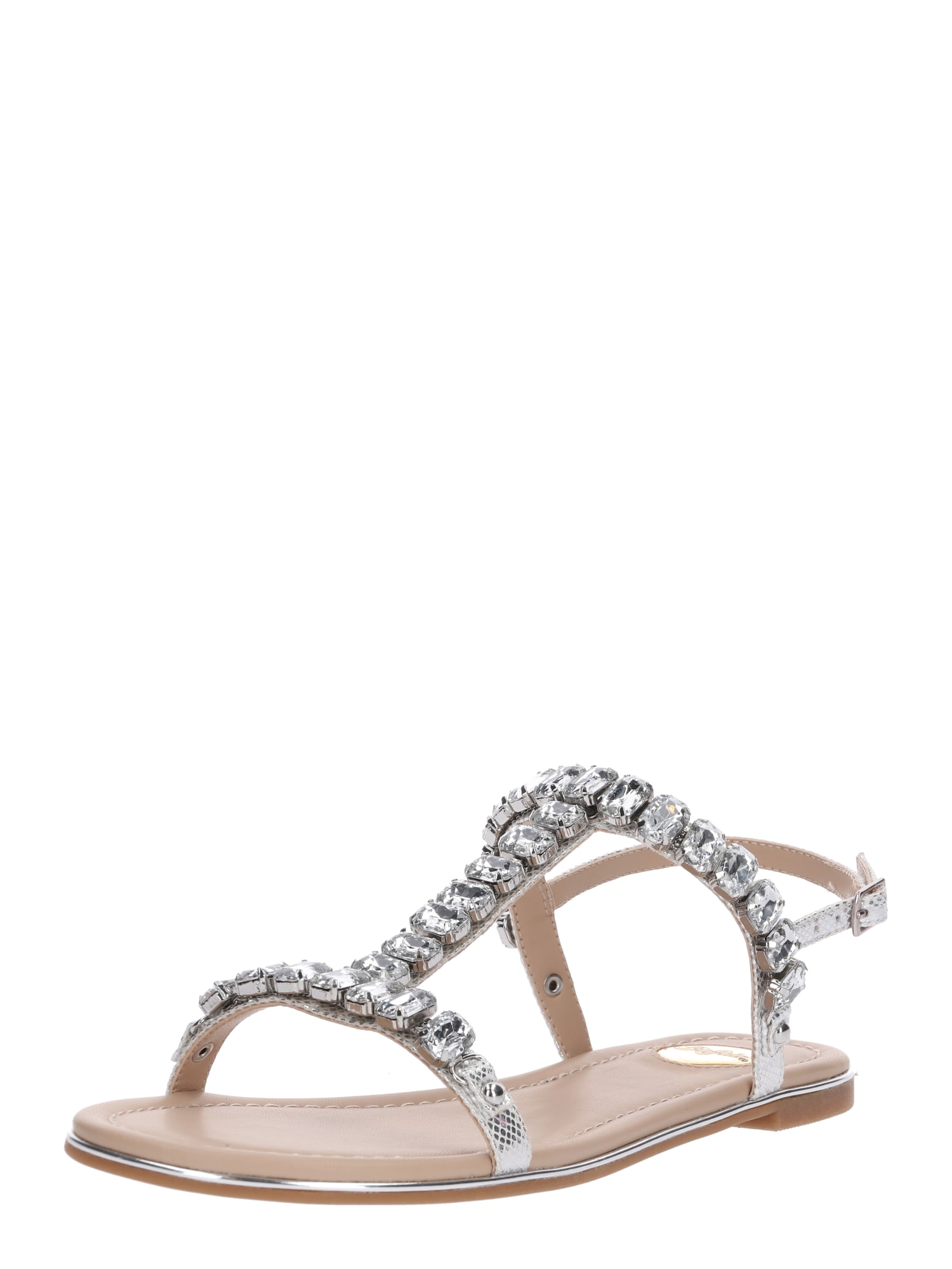 Sandály ESTELLE stříbrná BUFFALO