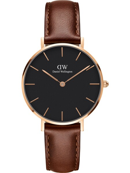 Uhren für Frauen - Daniel Wellington Uhr 'Classic Petite St Mawes' kastanienbraun rosegold  - Onlineshop ABOUT YOU