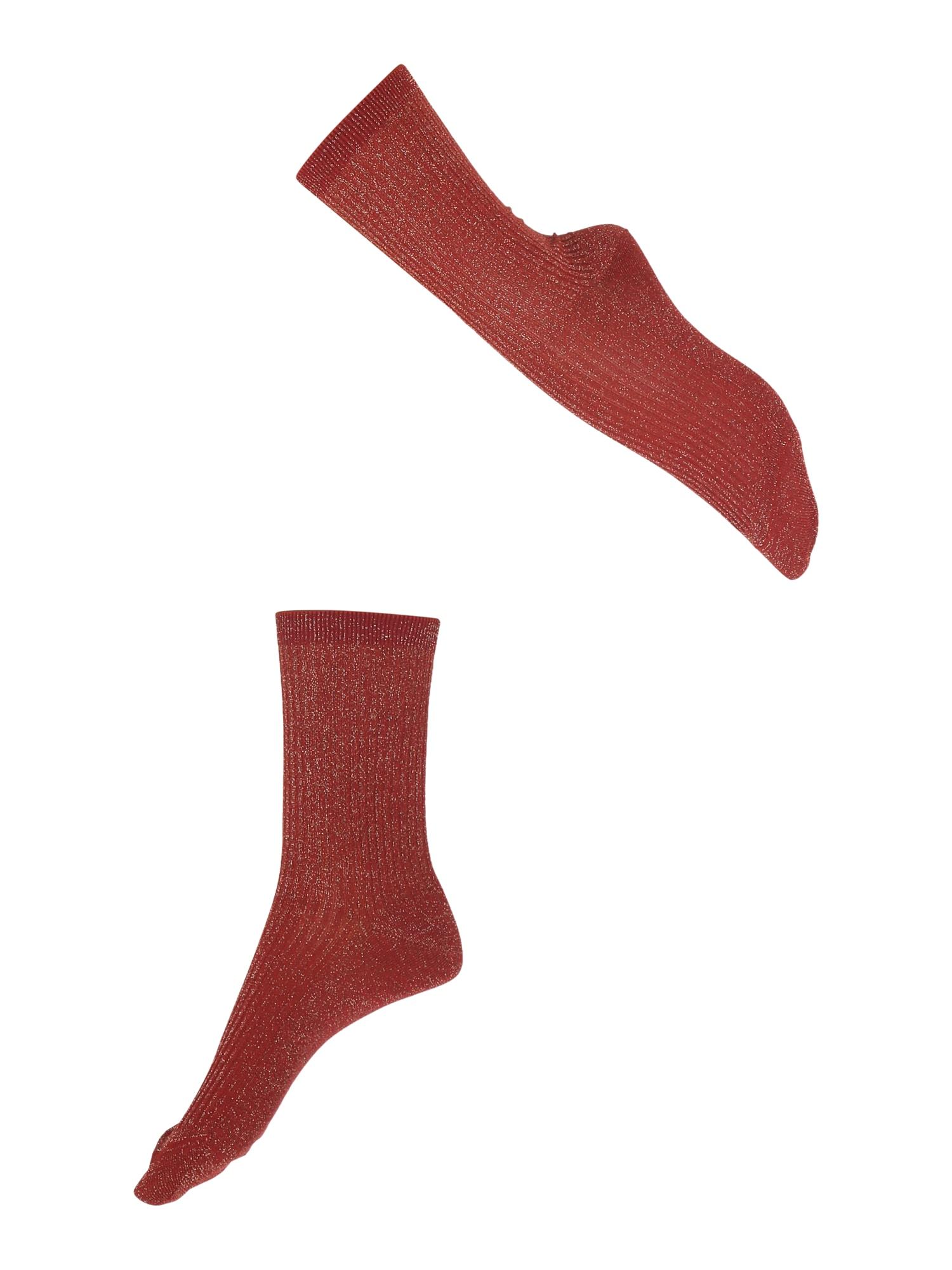 FALKE Ponožky 'Shiny'  červené