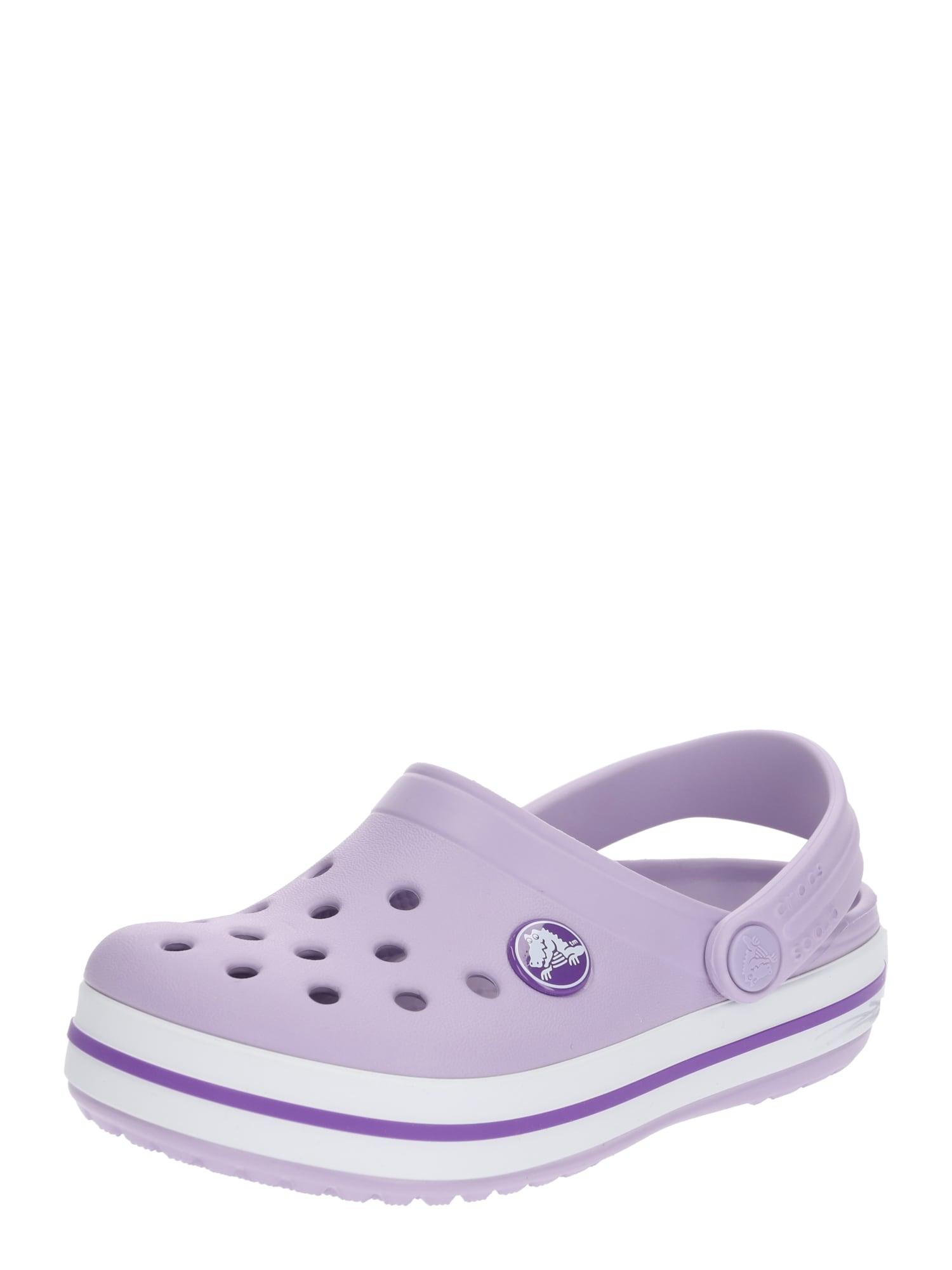Crocs Atviri batai 'Crocband' levandų spalva