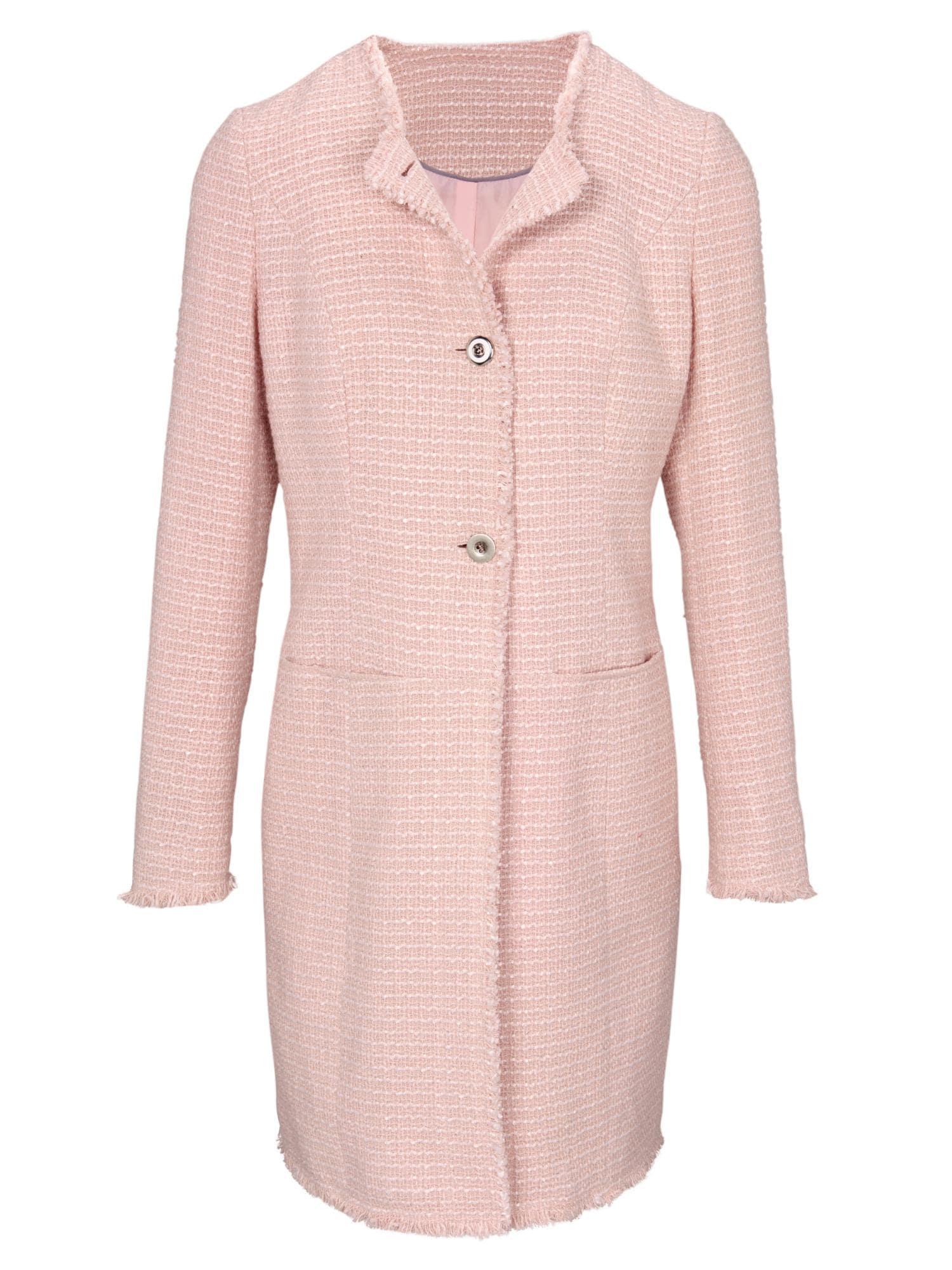 heine Demisezoninis paltas ryškiai rožinė spalva