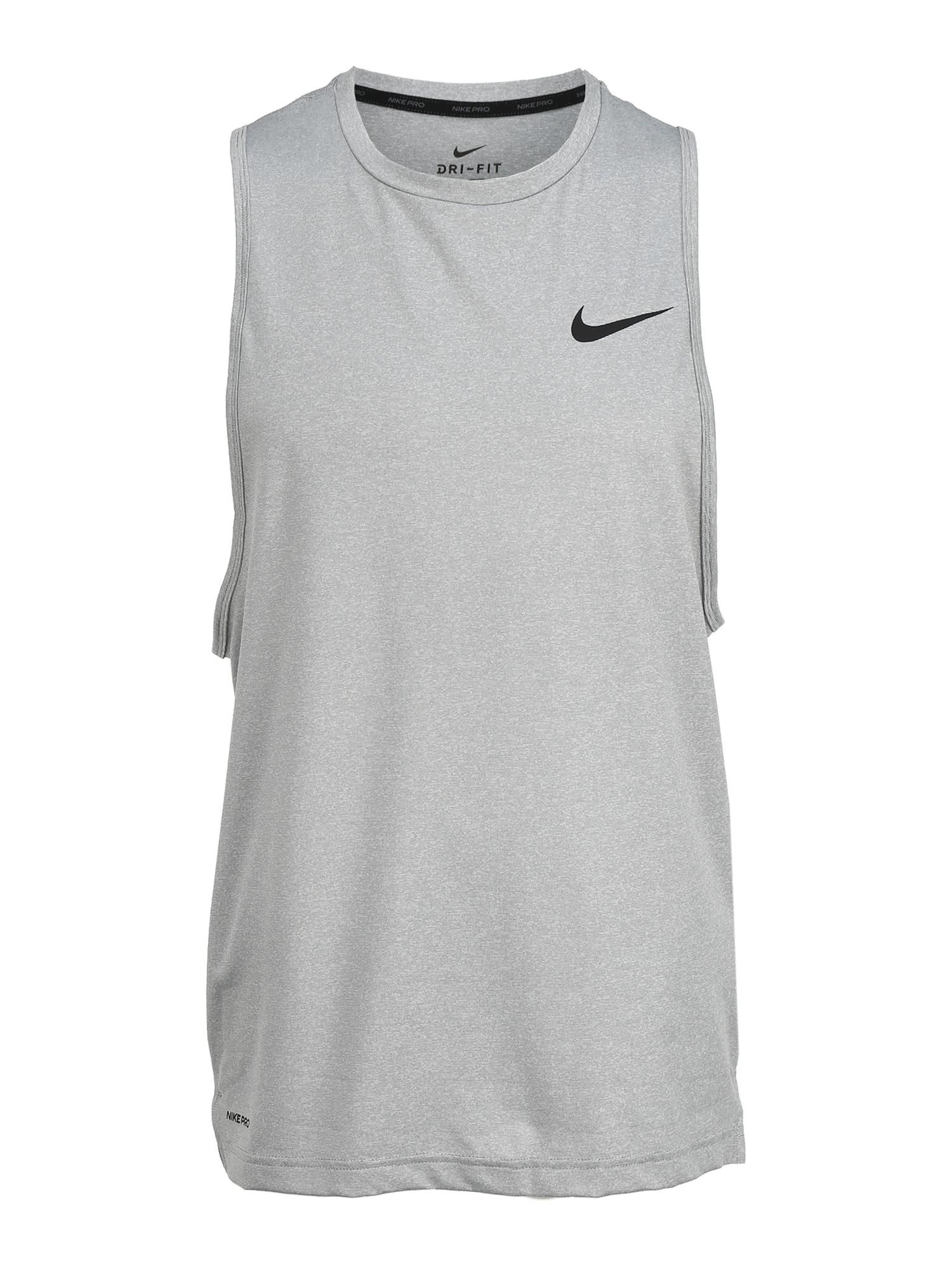 NIKE Sportiniai marškinėliai šviesiai pilka