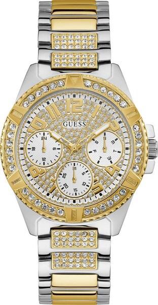 Uhren für Frauen - Multifunktionsuhr 'Lady Frontier, W1156L5' › Guess › gold silber  - Onlineshop ABOUT YOU