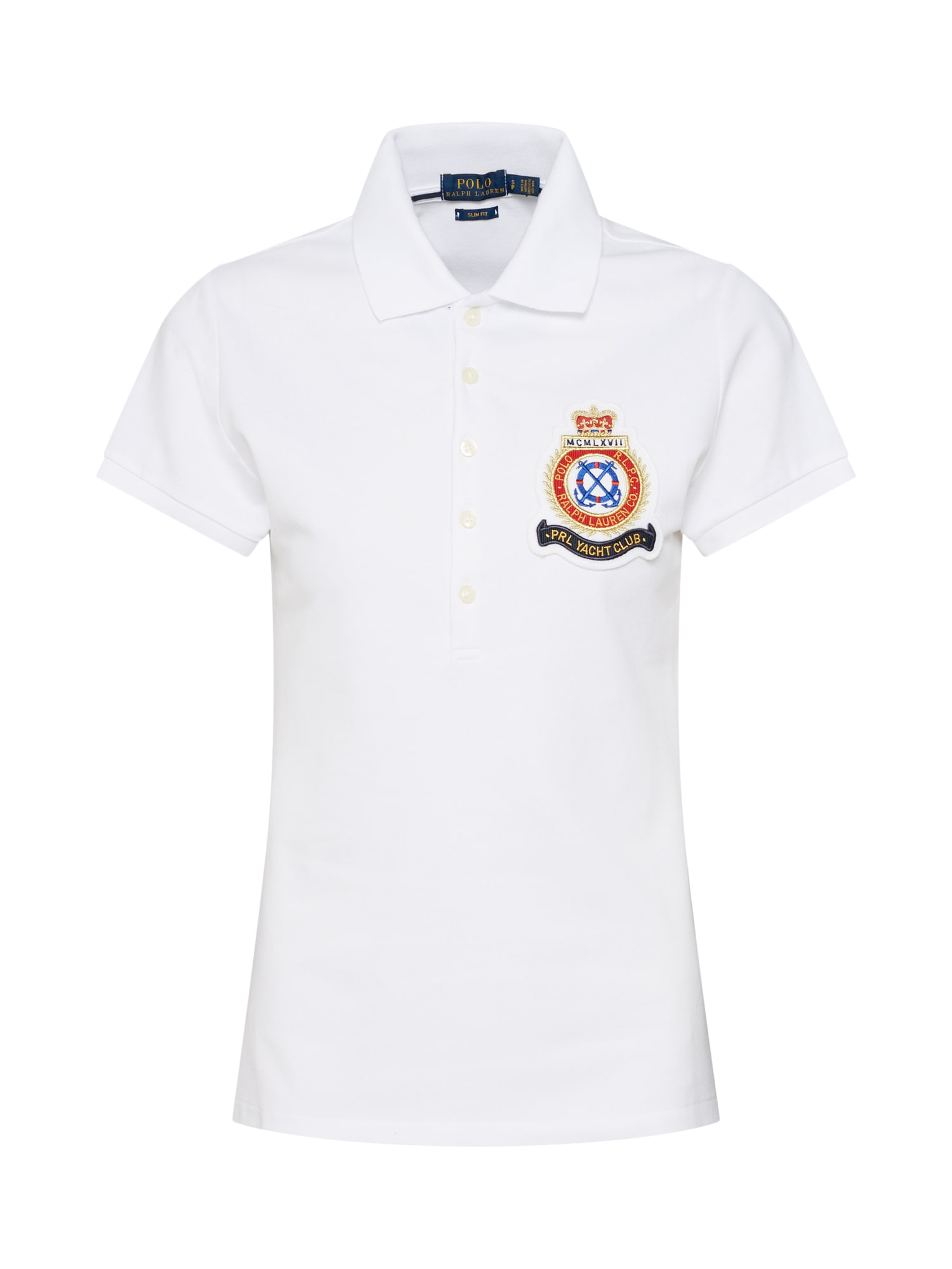 Tričko JULIE W CRST  bílá POLO RALPH LAUREN