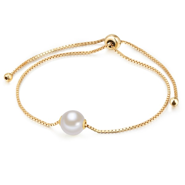 Armbaender - Armkette › Valero Pearls › gold perlweiß  - Onlineshop ABOUT YOU