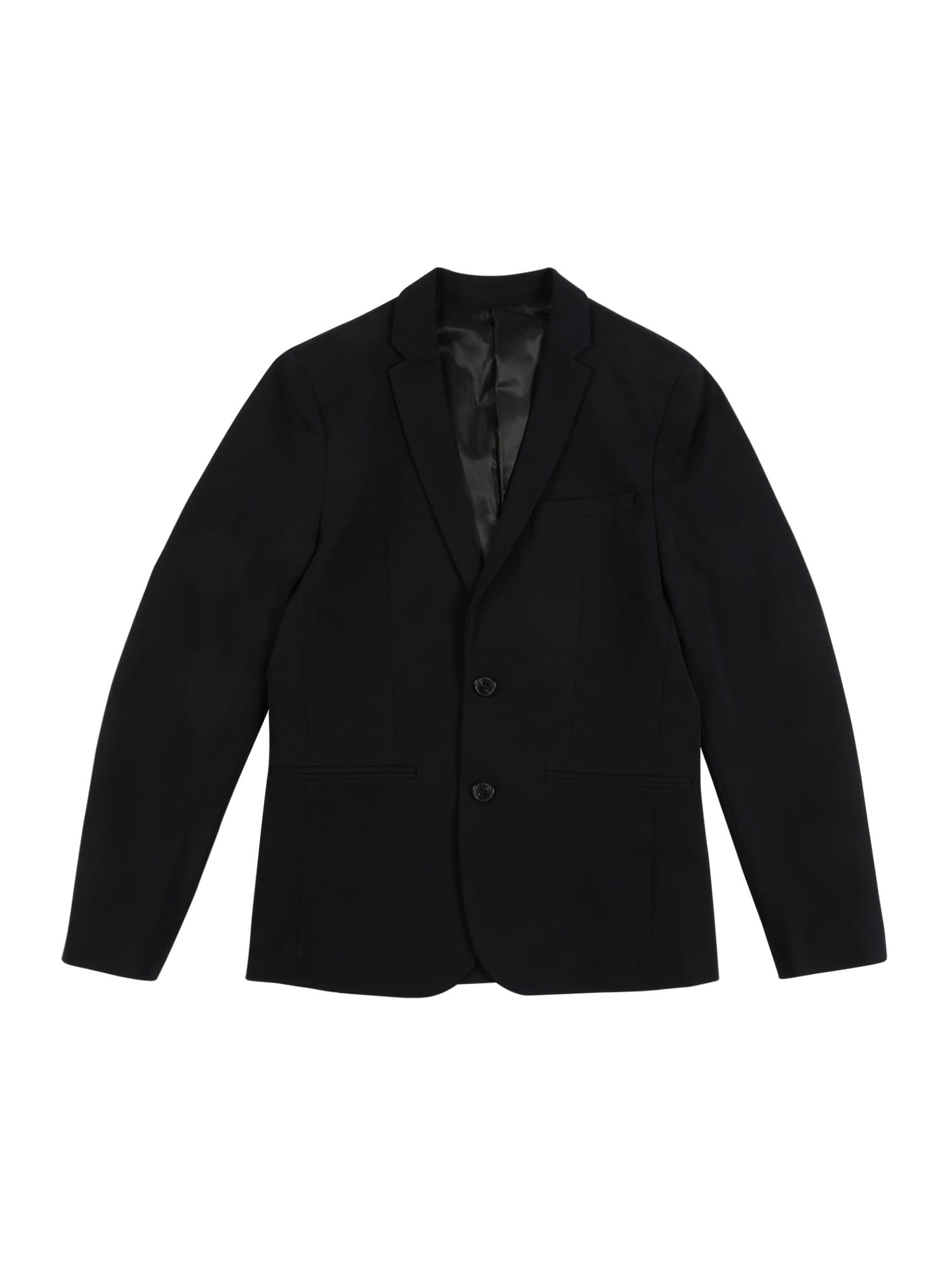 Jack & Jones Junior Prechodná bunda 'JPRSTEVEN'  tmavomodrá