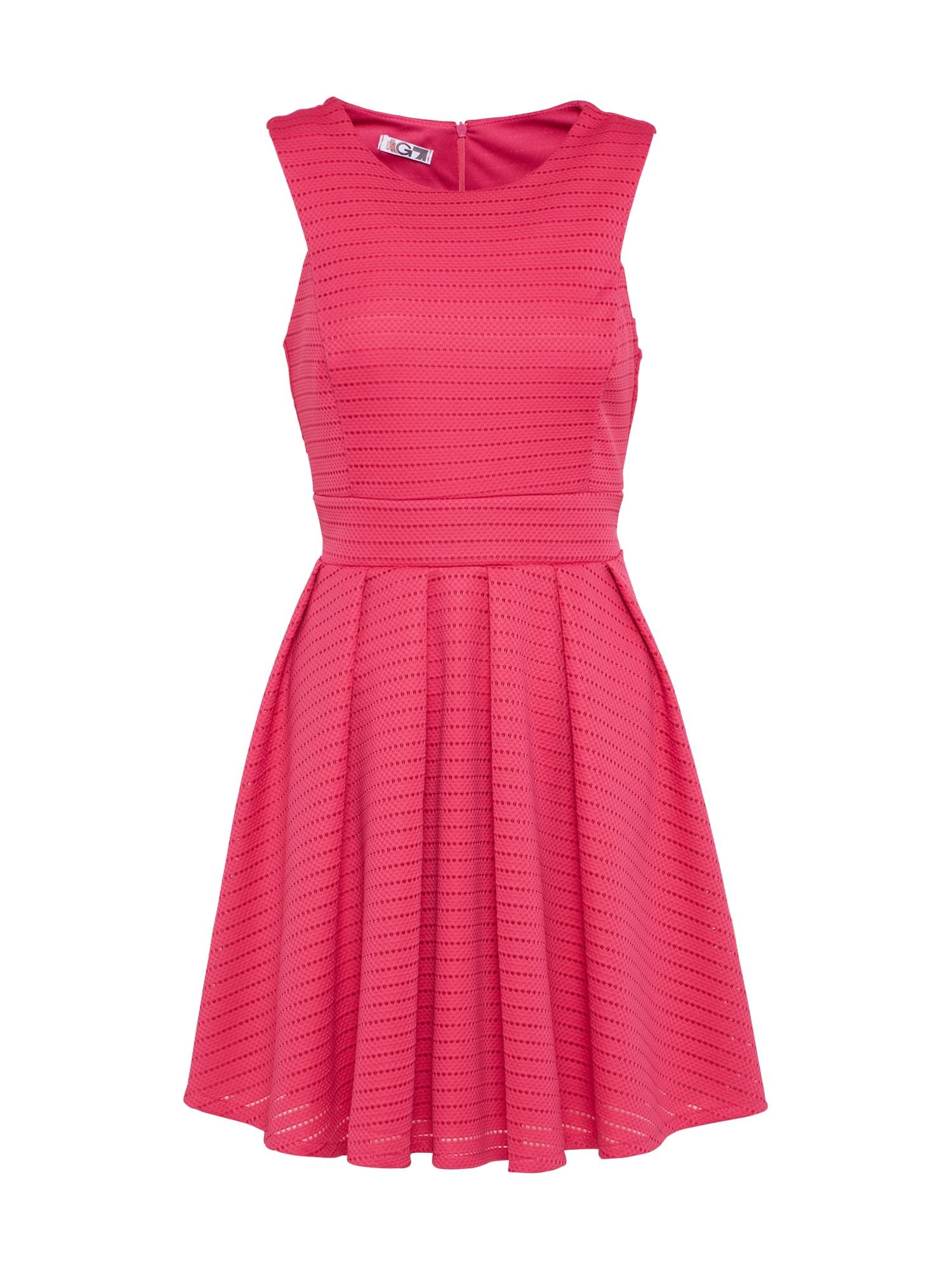Letní šaty fuchsiová WAL G.