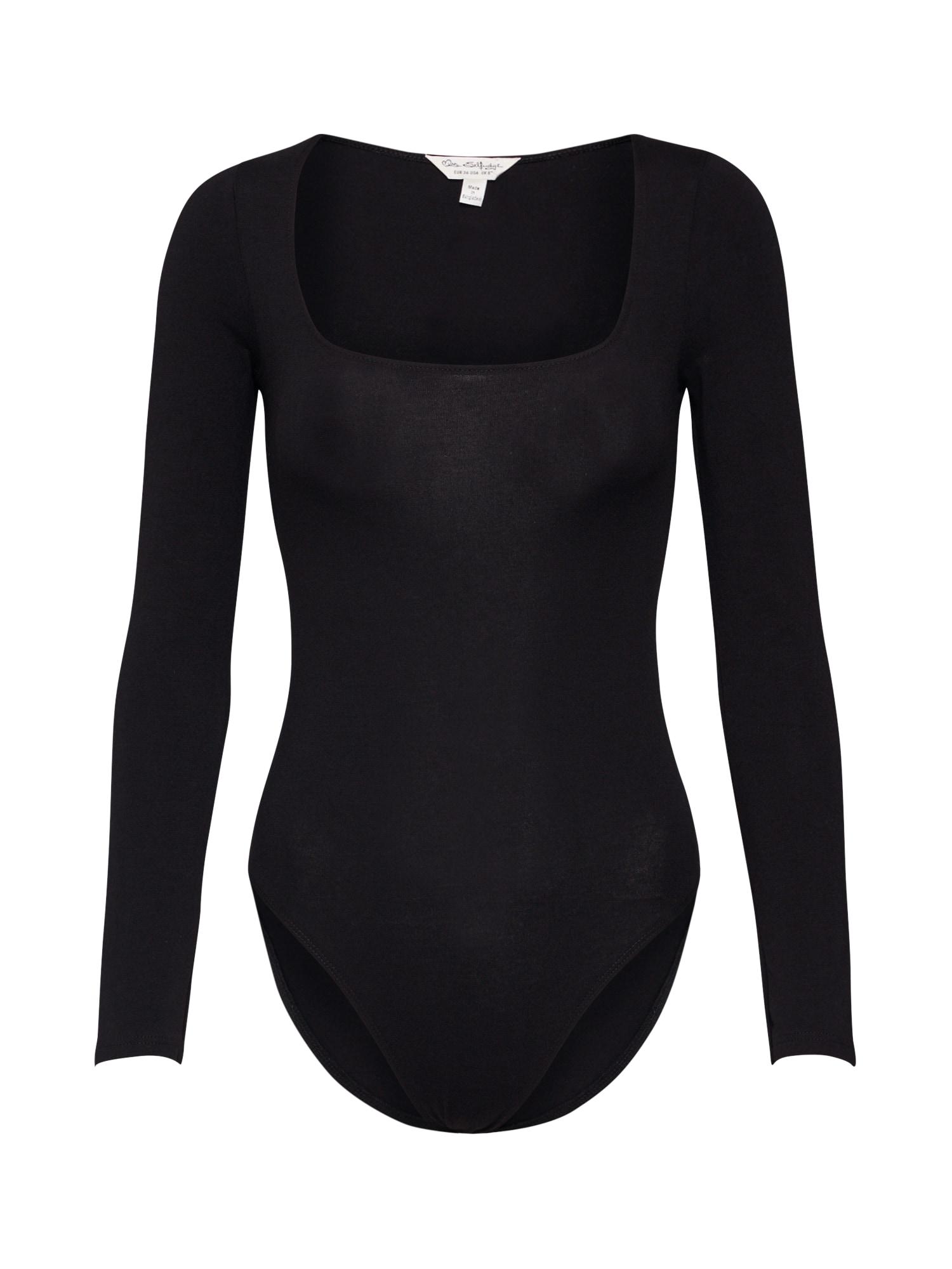 Miss Selfridge Tricou  negru
